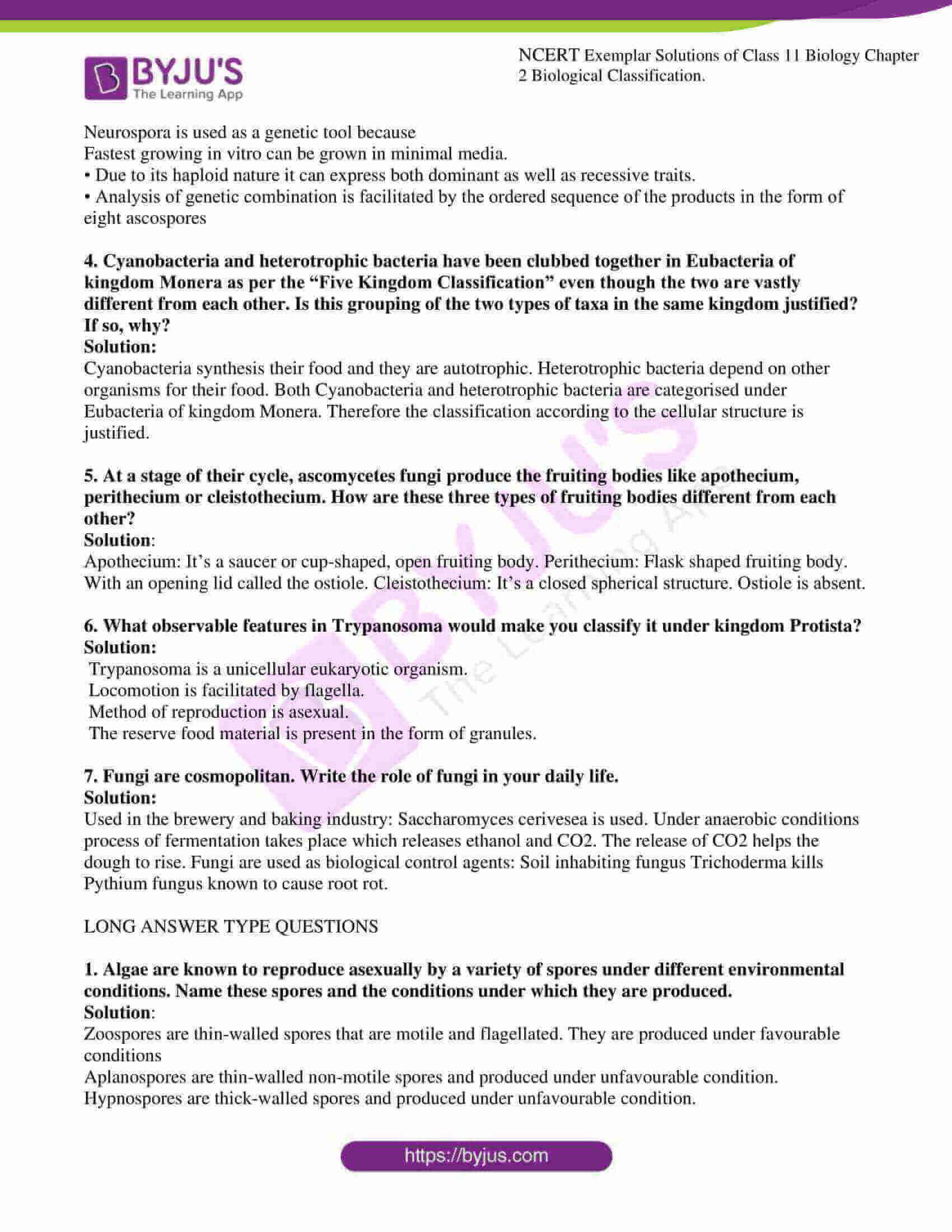 ncert exemplar solutions for class 11 bio chapter 2 5