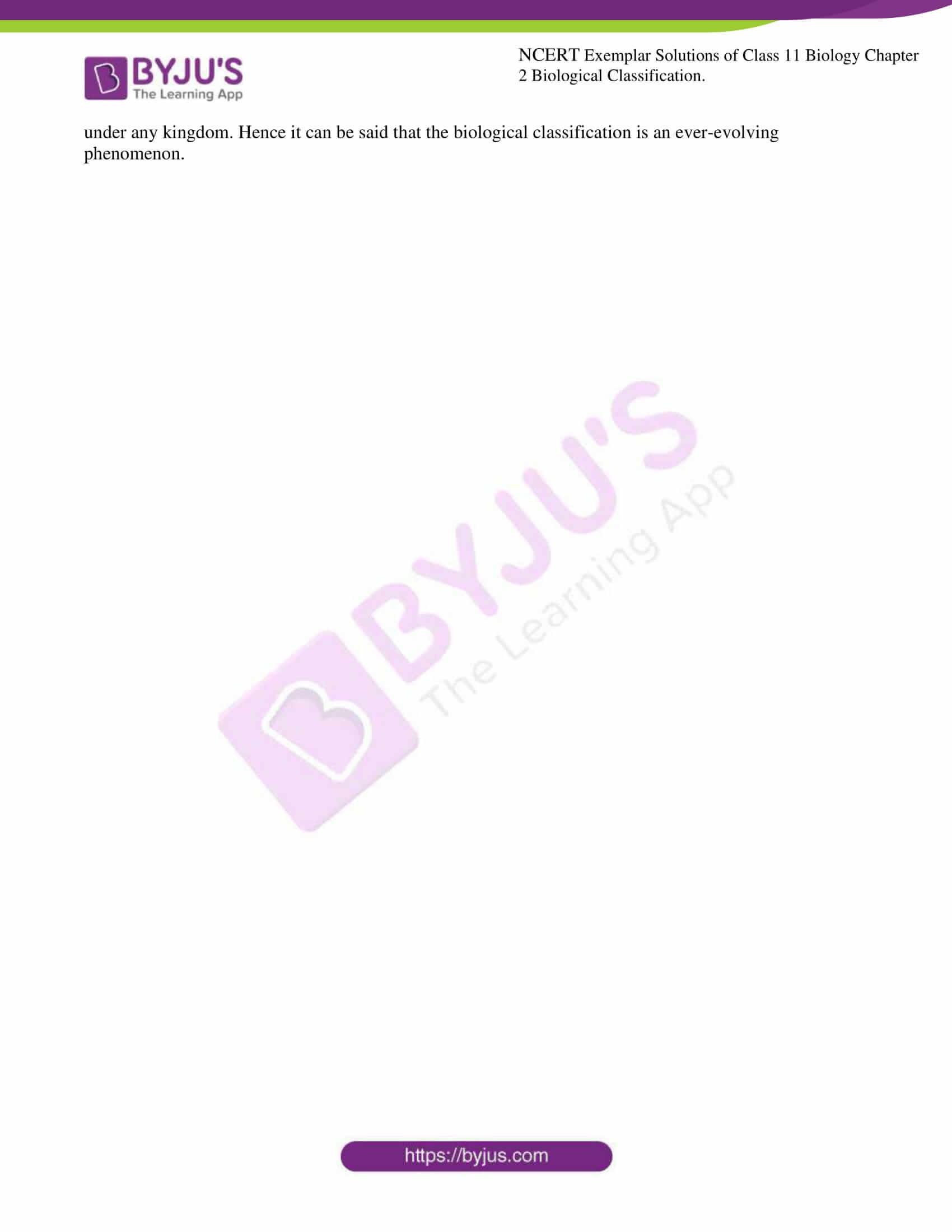 ncert exemplar solutions for class 11 bio chapter 2 7