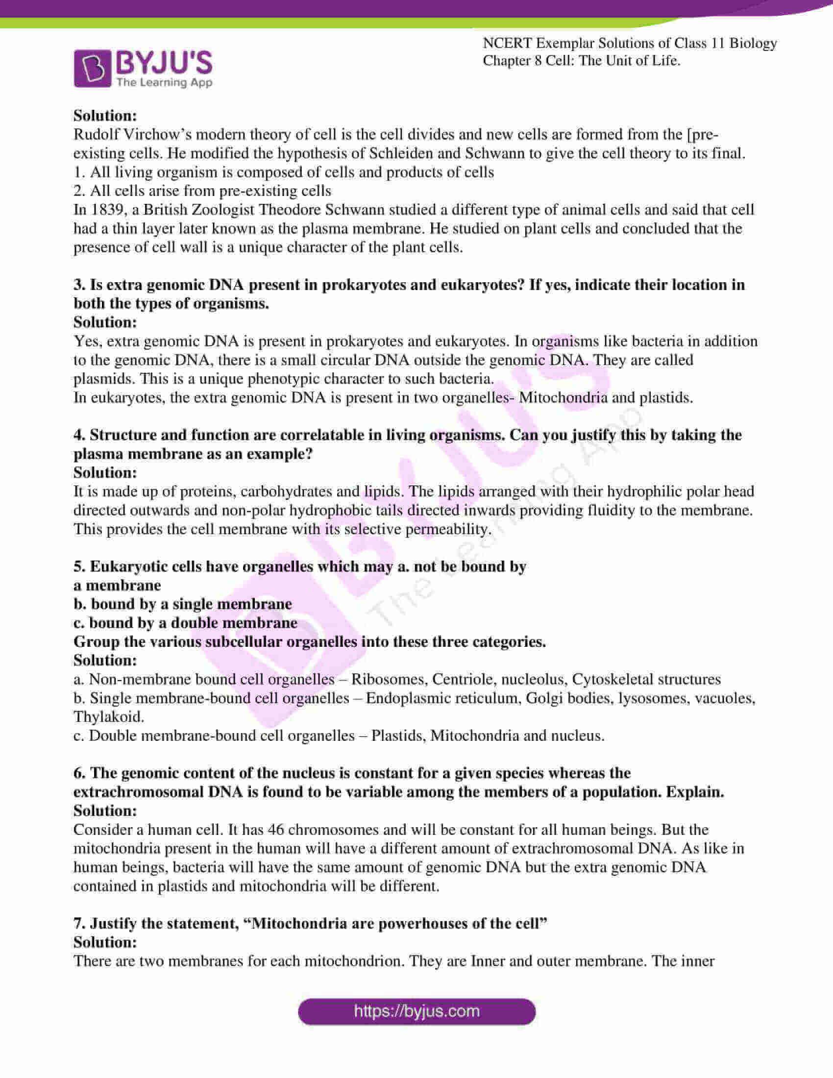 ncert exemplar solutions for class 11 bio chapter 8 6