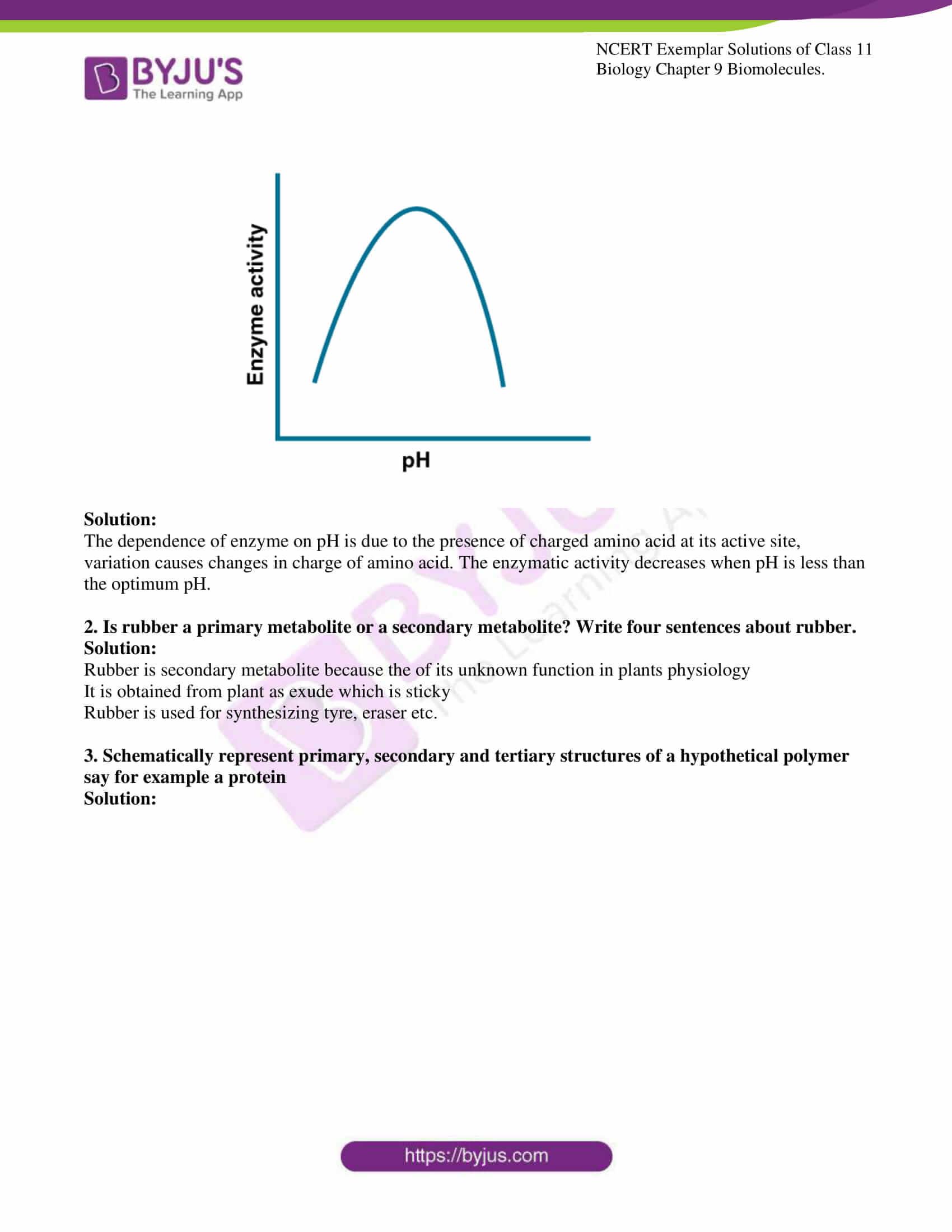 ncert exemplar solutions for class 11 bio chapter 9 6