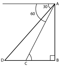 Previous Year JEE Problem on Height and Distance