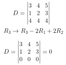 System of Linear Equations JEE Past Year Solved Papers