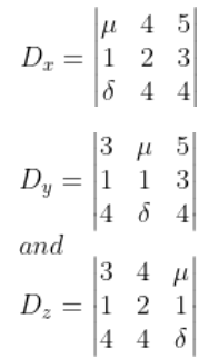 System of Linear Equations JEE Past Years Solved Papers