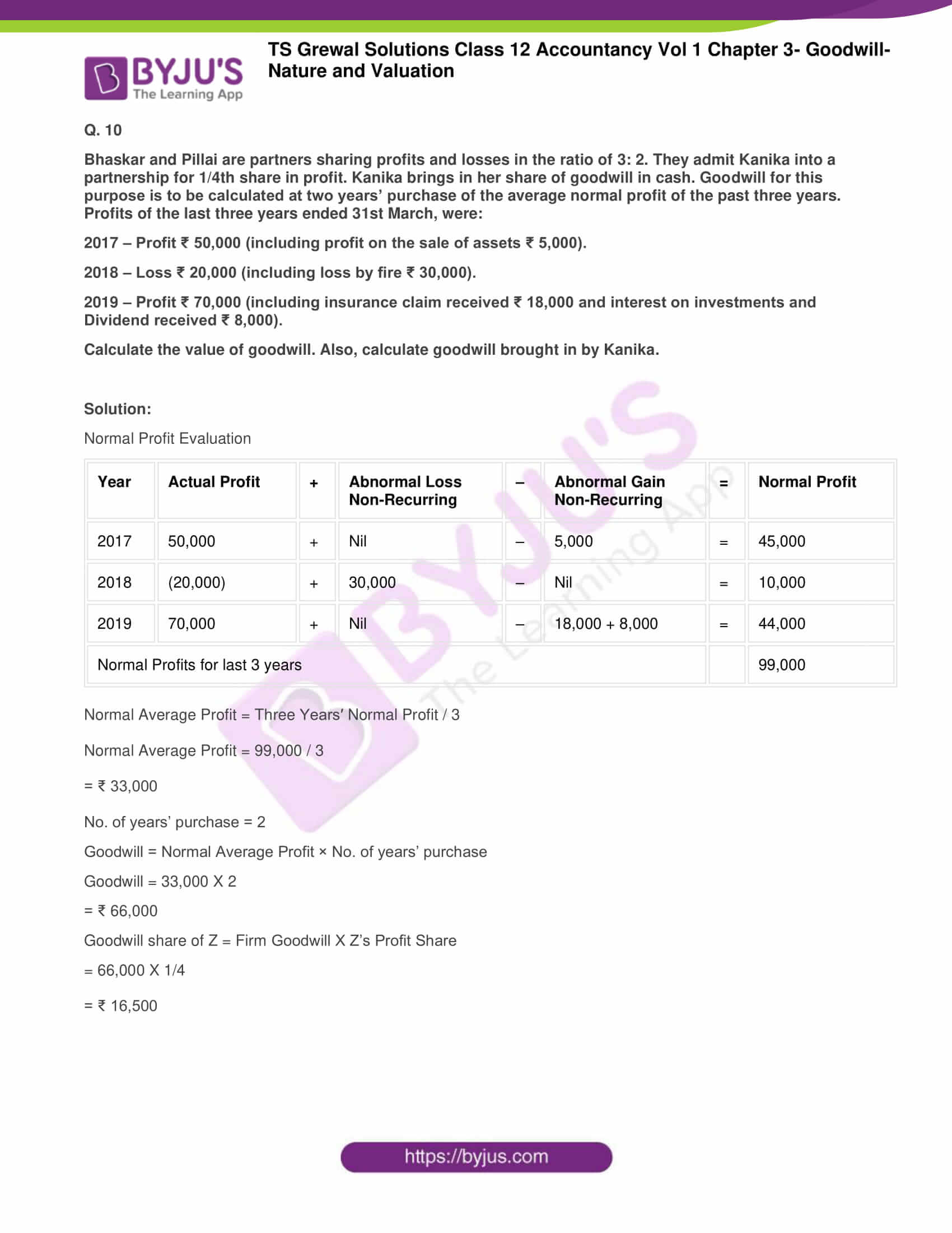 ts grewal solutions for class 12 accountancy vol 1 chapter 308