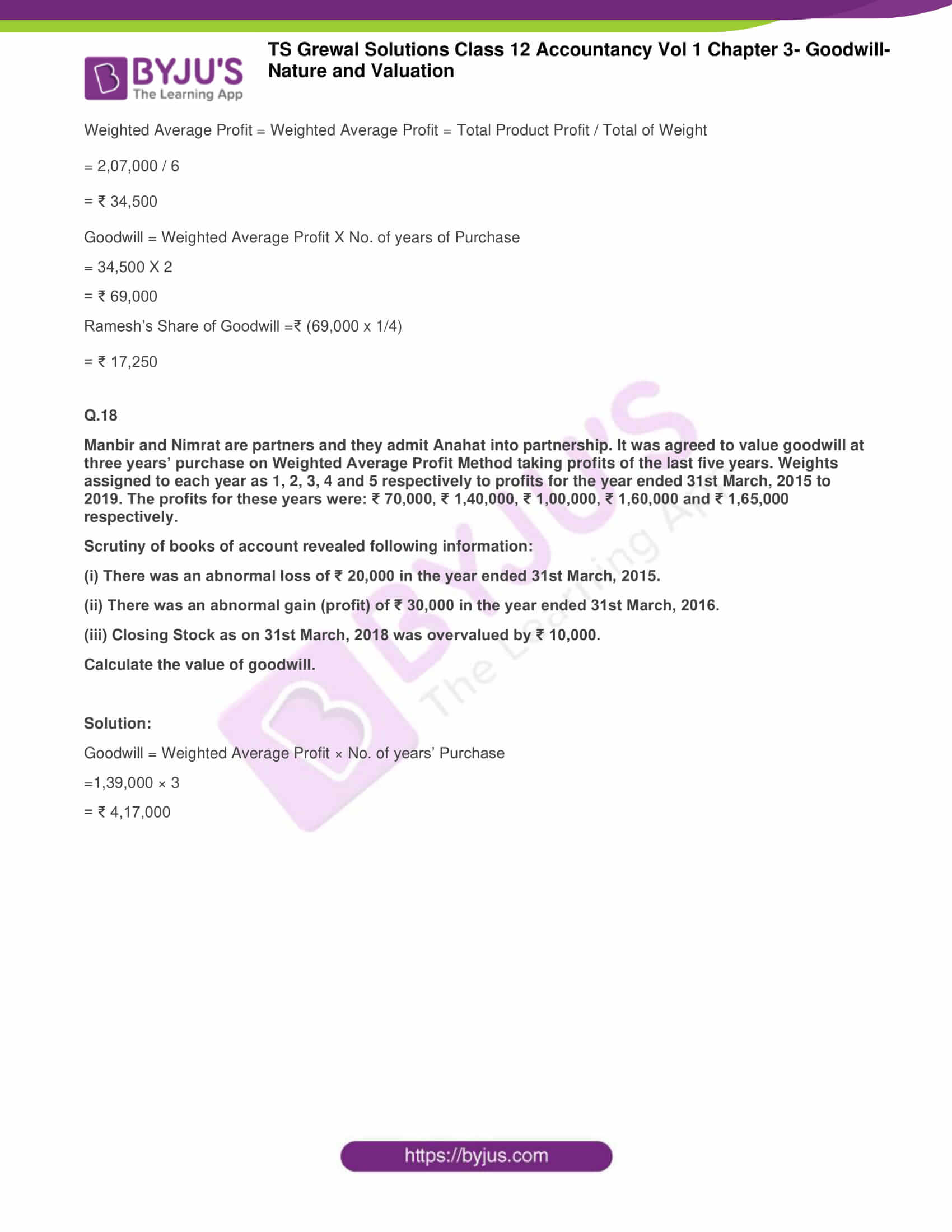 ts grewal solutions for class 12 accountancy vol 1 chapter 316