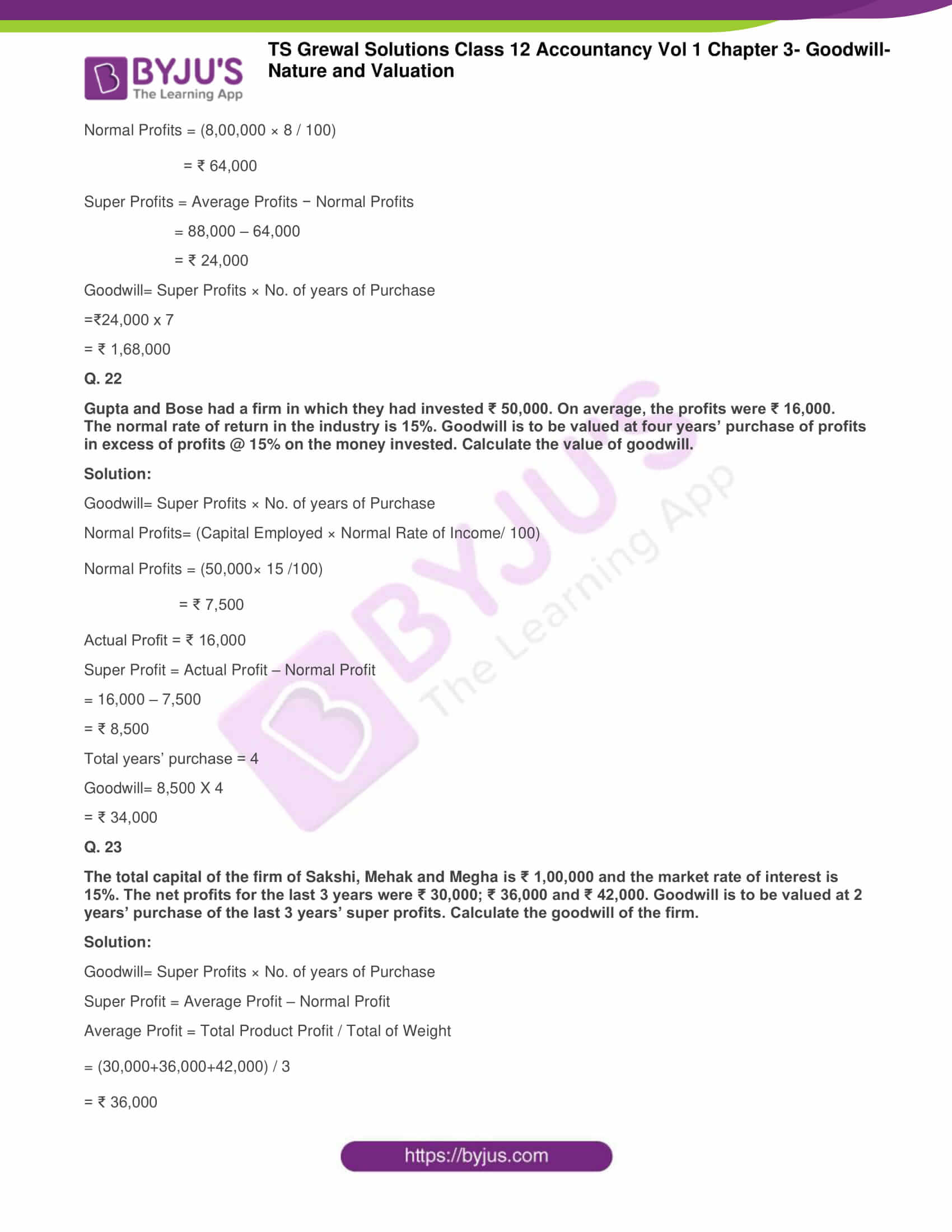 ts grewal solutions for class 12 accountancy vol 1 chapter 321