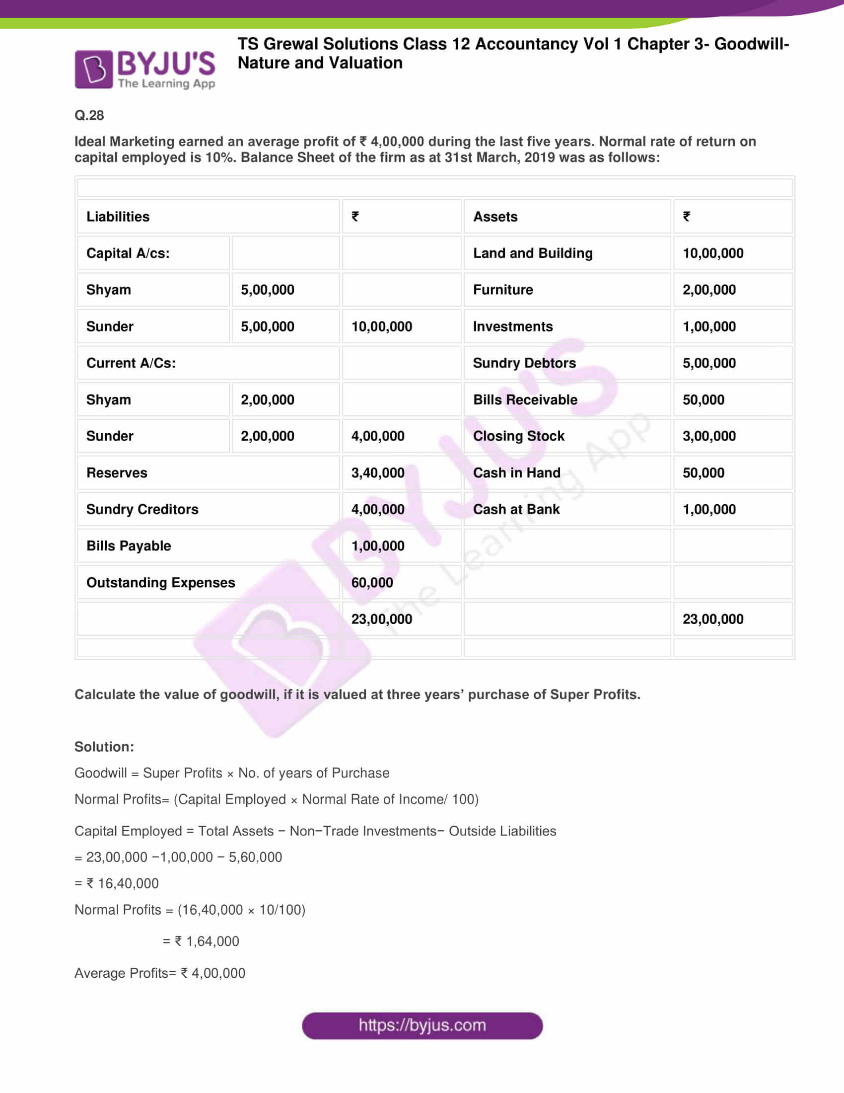 ts grewal solutions for class 12 accountancy vol 1 chapter 325