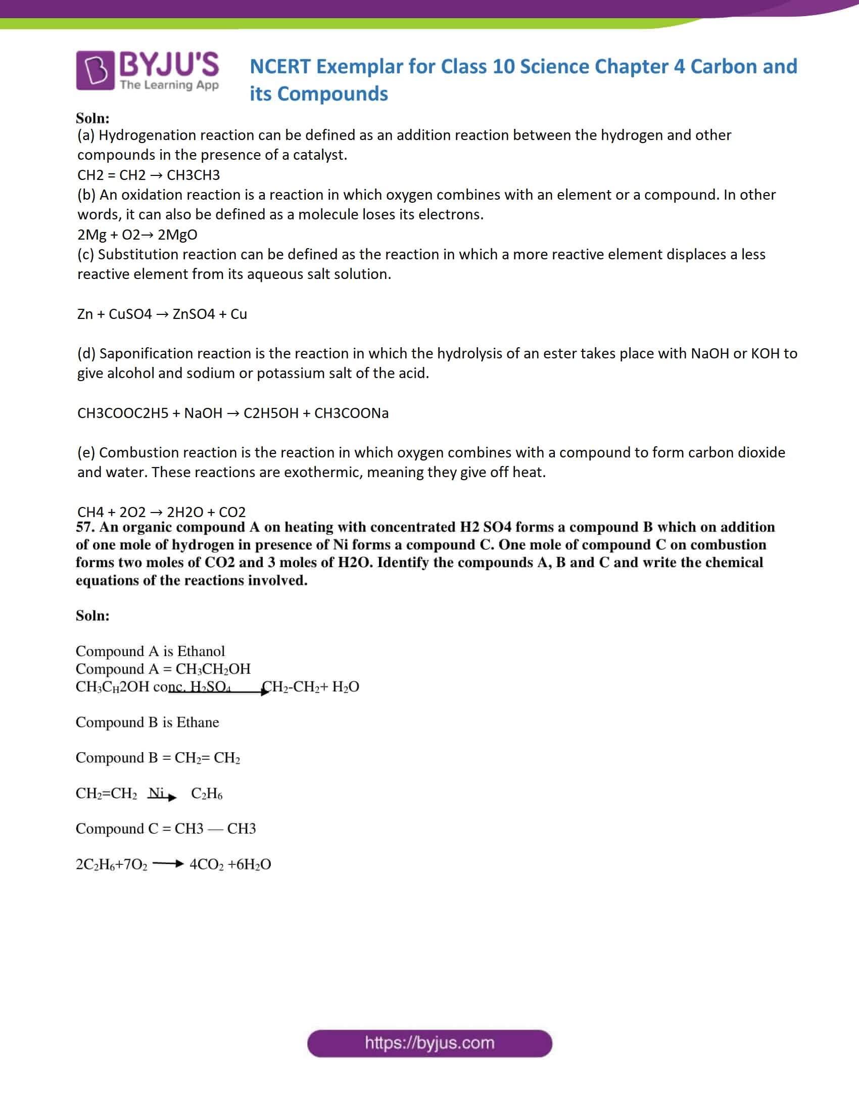 NCERT Exemplar solution class 10 Science Chapter 4 part 24