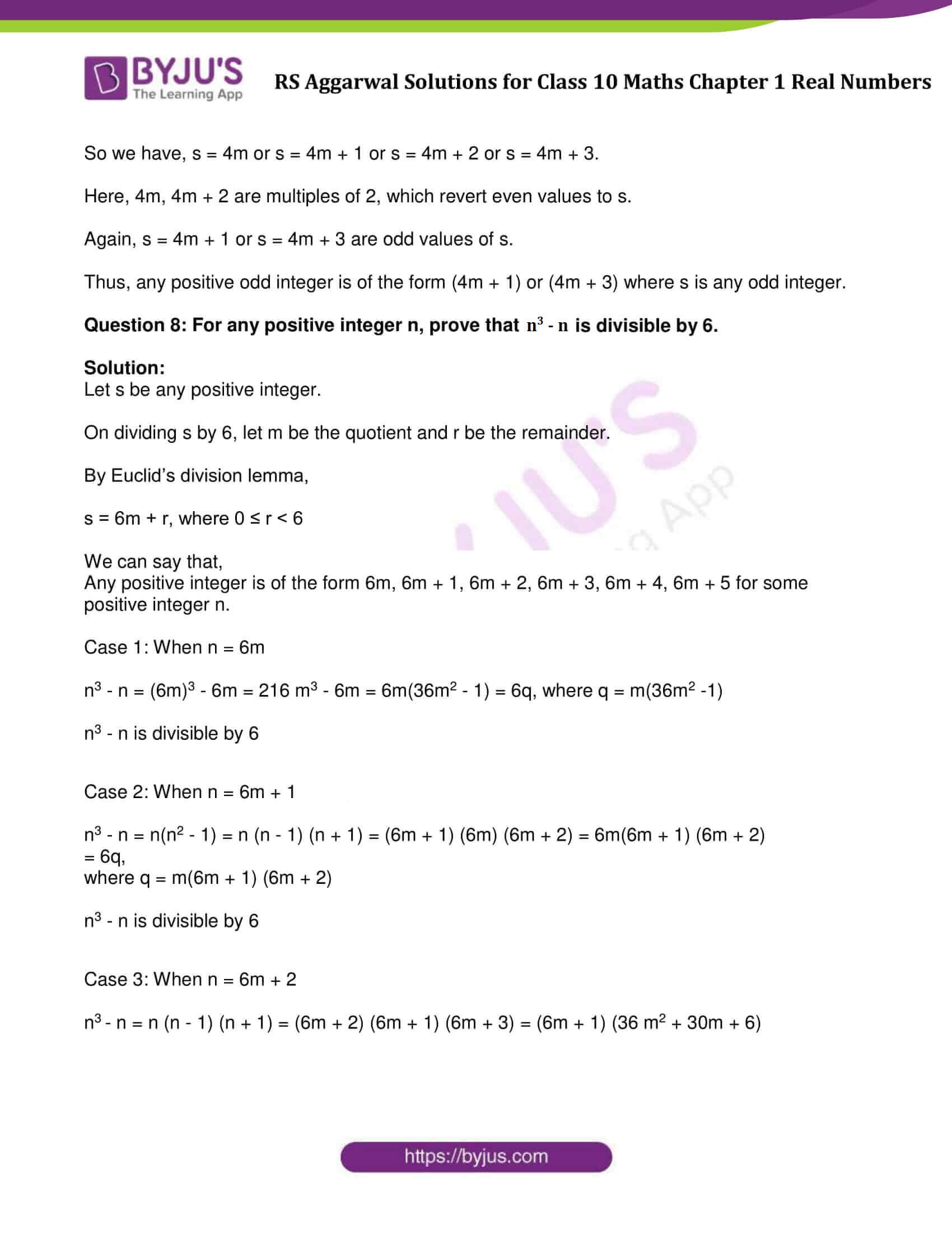 Rs Aggarwal Solution Class 10 Maths Chapter 1 Ex 1A