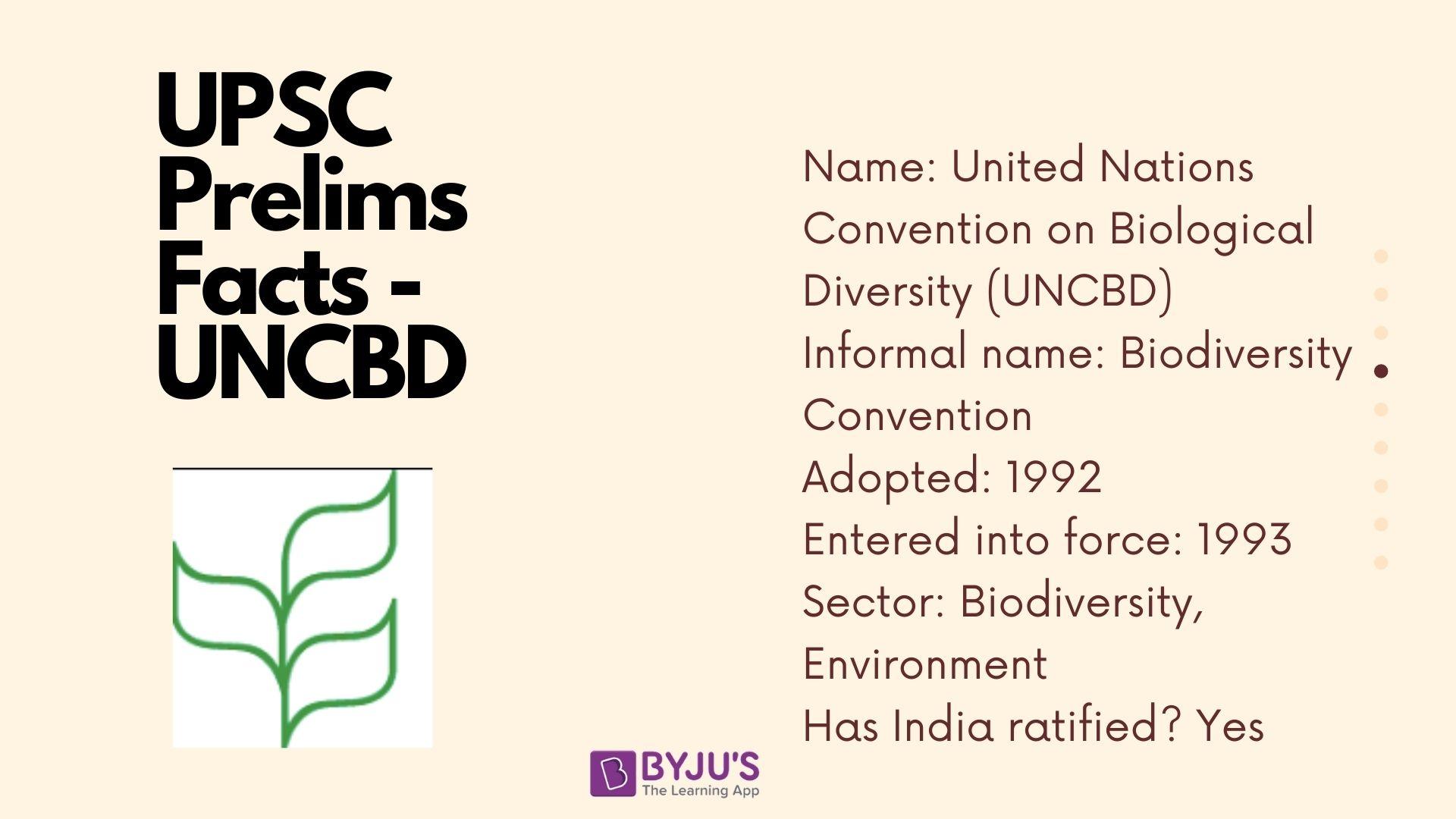 UNCBD Facts