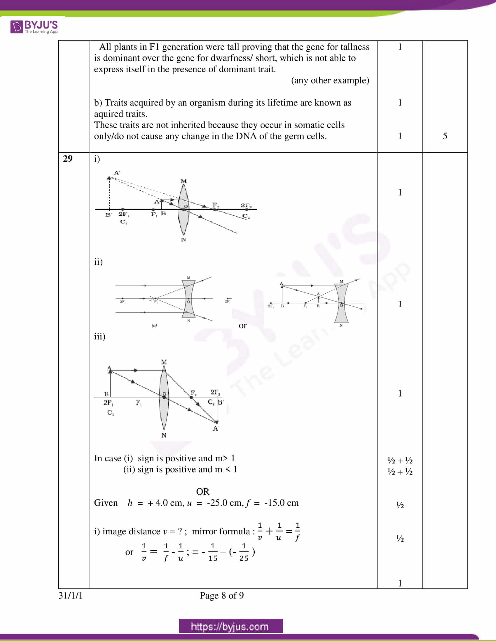 cbse class 10 science question paper set 3 solution 2020 6