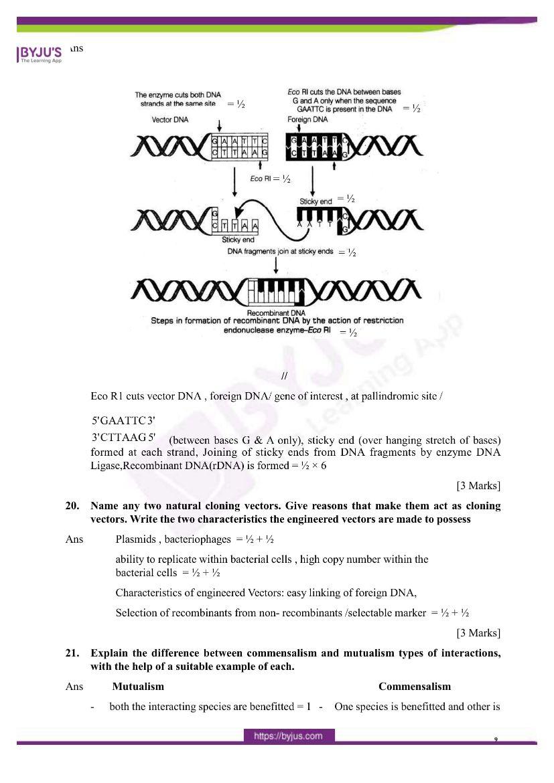 cbse class 12 biology 2020 question paper answer set 57 1 1 07
