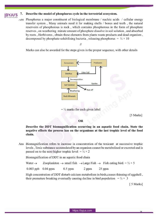 cbse class 12 biology 2020 question paper answer set 57 1 1 12
