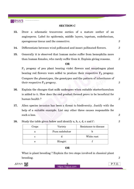 cbse class 12 biology 2020 question paper set 57 1 1 08