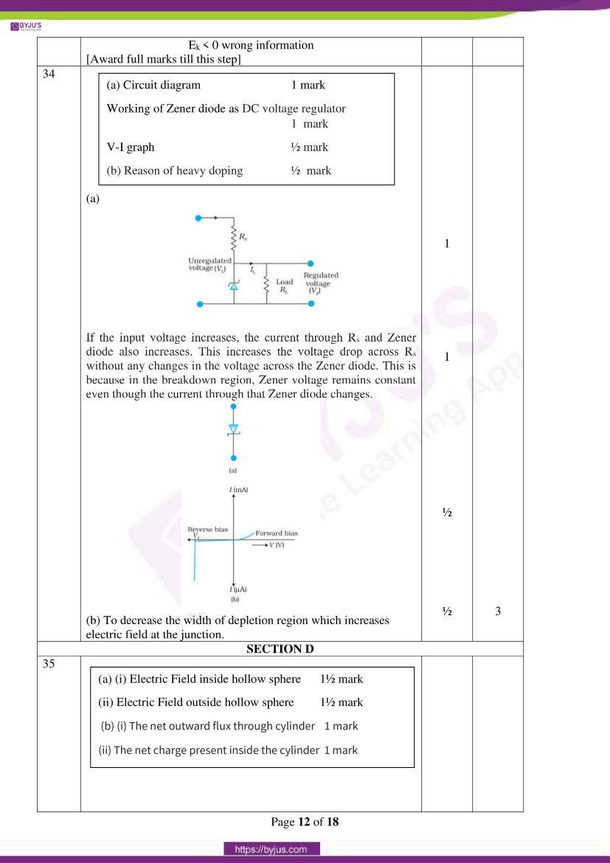 cbse class 12 physics 2020 question paper answer set 55 1 1 10