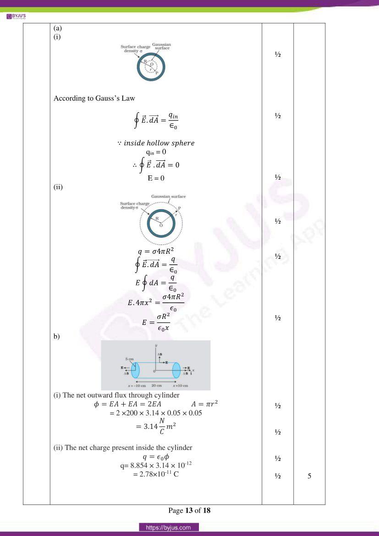cbse class 12 physics 2020 question paper answer set 55 1 1 11