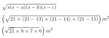 Class 9 Chapter 12 Imp.Q.3.Solution