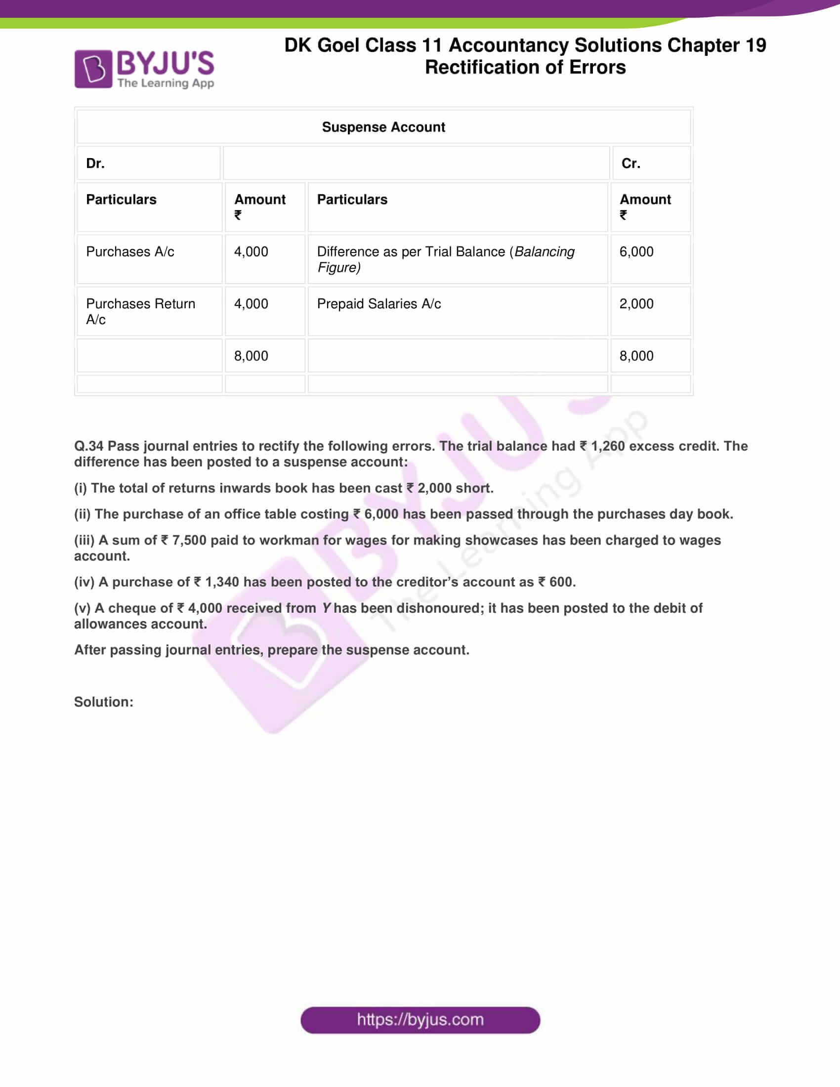 dk goel solutions class 11 accountancy chapter 19 rectification 65