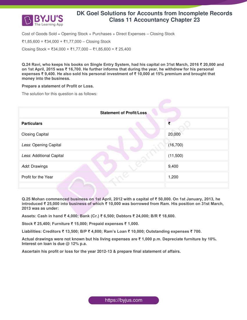 dk goel solutions class 11 accountancy chapter 23 056