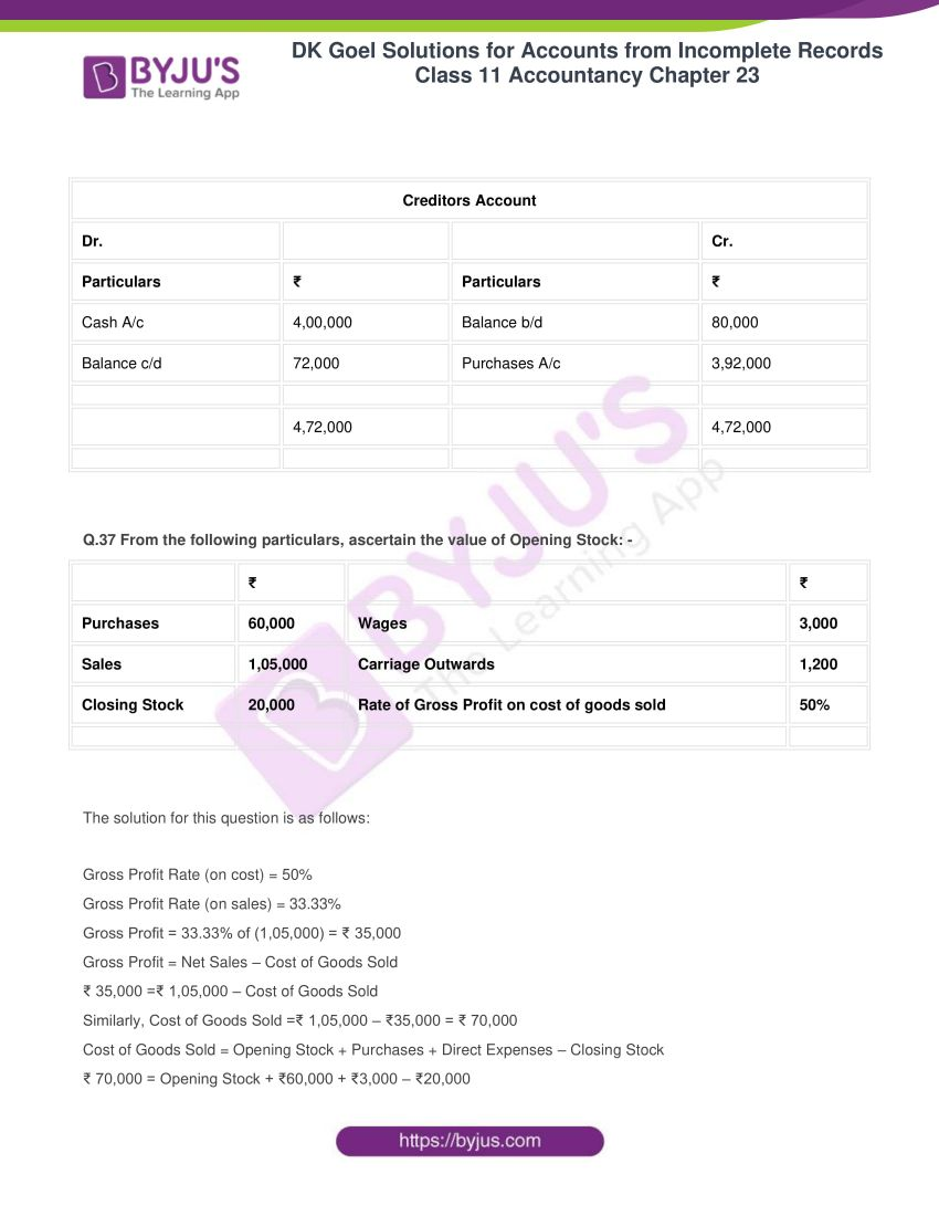 dk goel solutions class 11 accountancy chapter 23 094