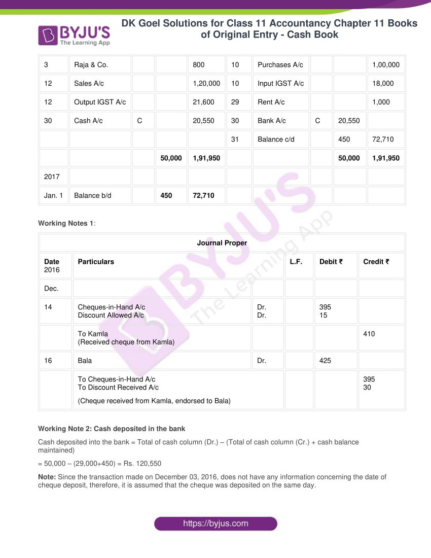 Dk goel solutions for class 11 accountancy chapter 11 30