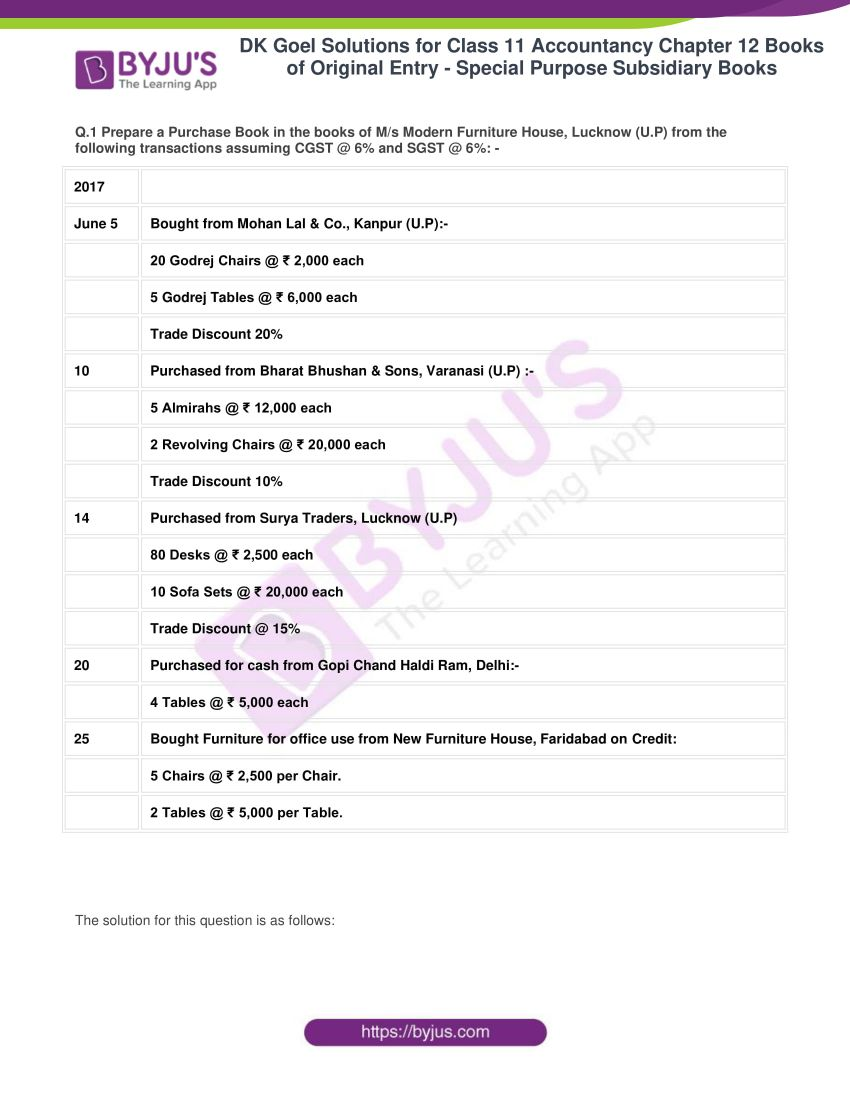dk goel solutions for class 11 accountancy chapter 12 subsidiary books 01