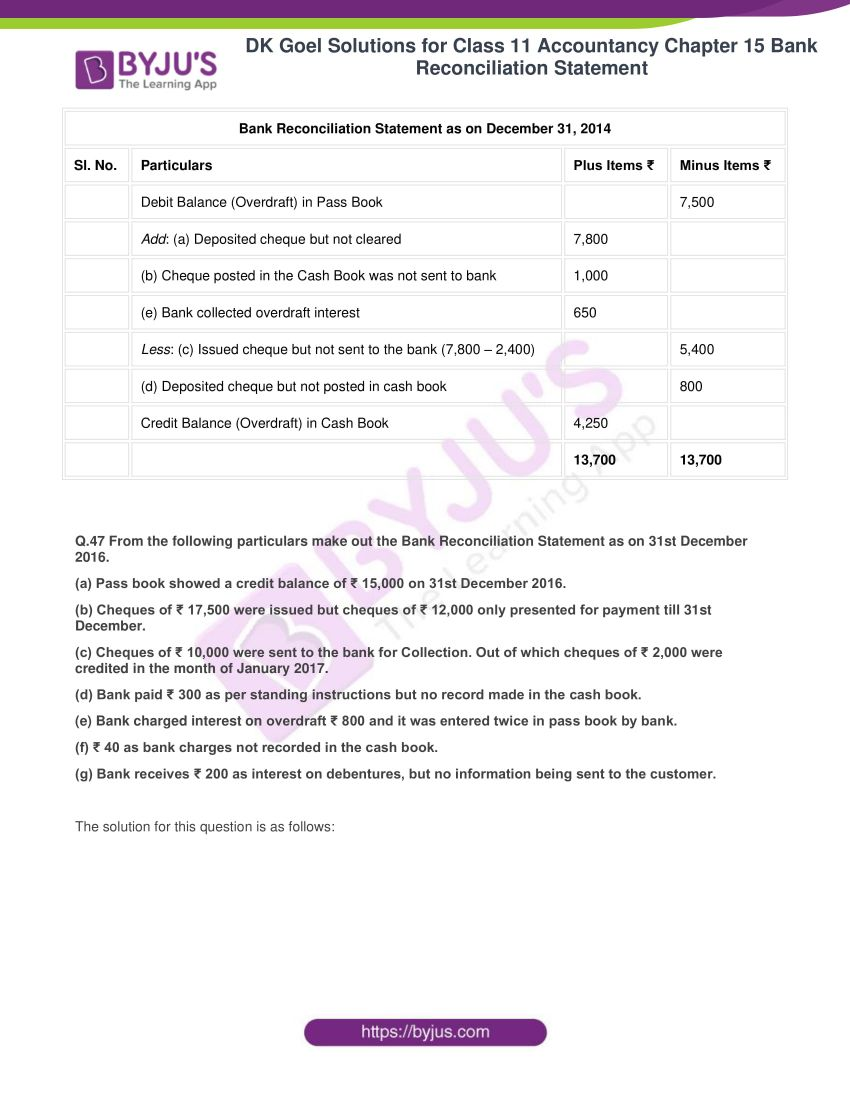 dk goel solutions for class 11 accountancy chapter 15 48