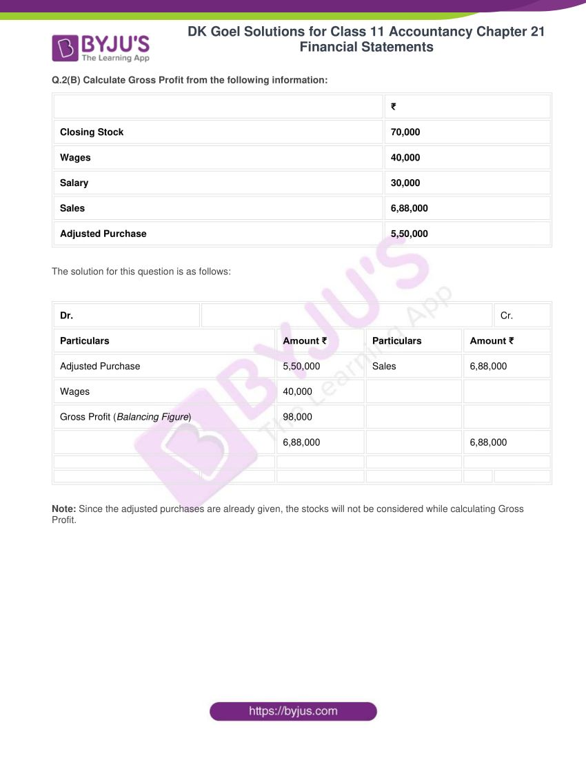 dk goel solutions for class 11 accountancy chapter 21 financial statements 03
