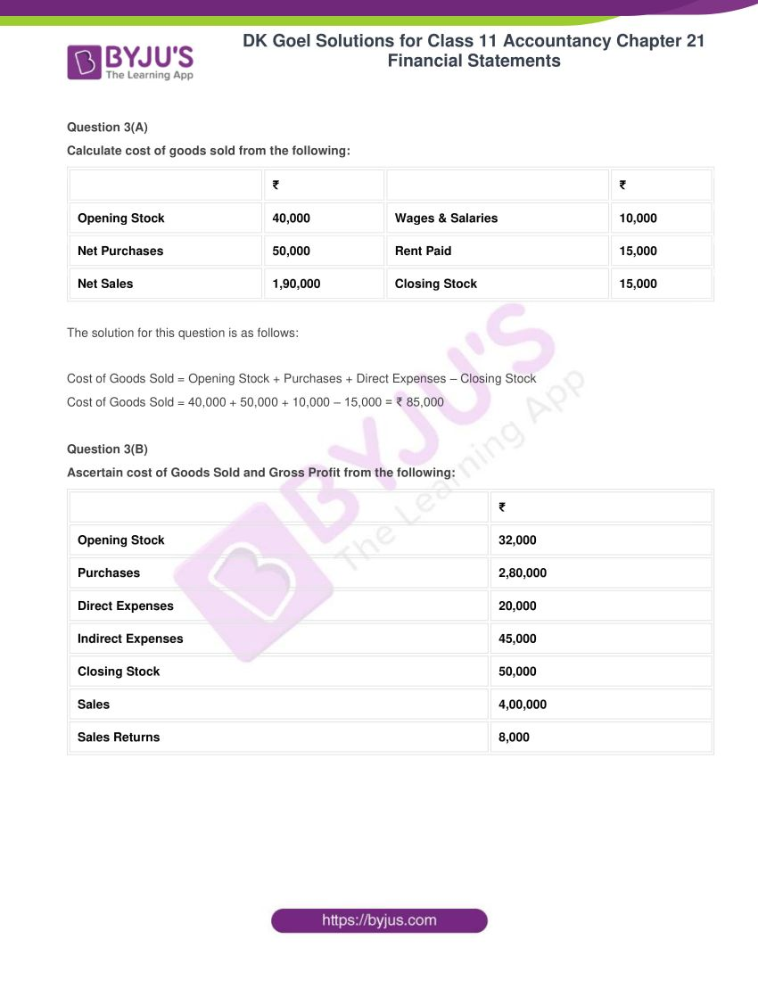 dk goel solutions for class 11 accountancy chapter 21 financial statements 04