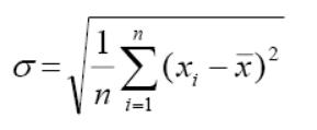 How to find Standard Deviation in Statistics
