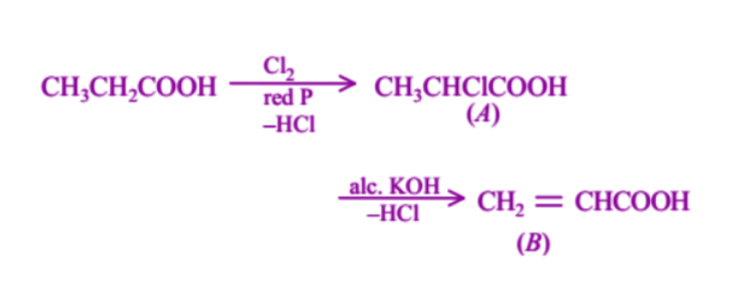 JEE Main Past Year Solved Question on Carboxylic Acid