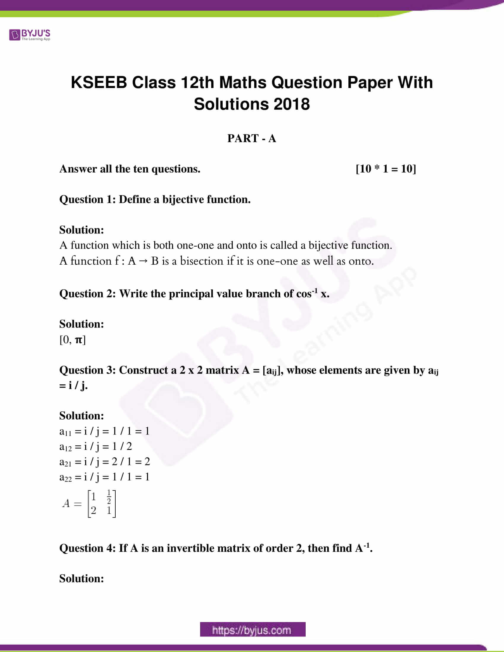 kseeb class 12 exam question paper solutions march 2018 01