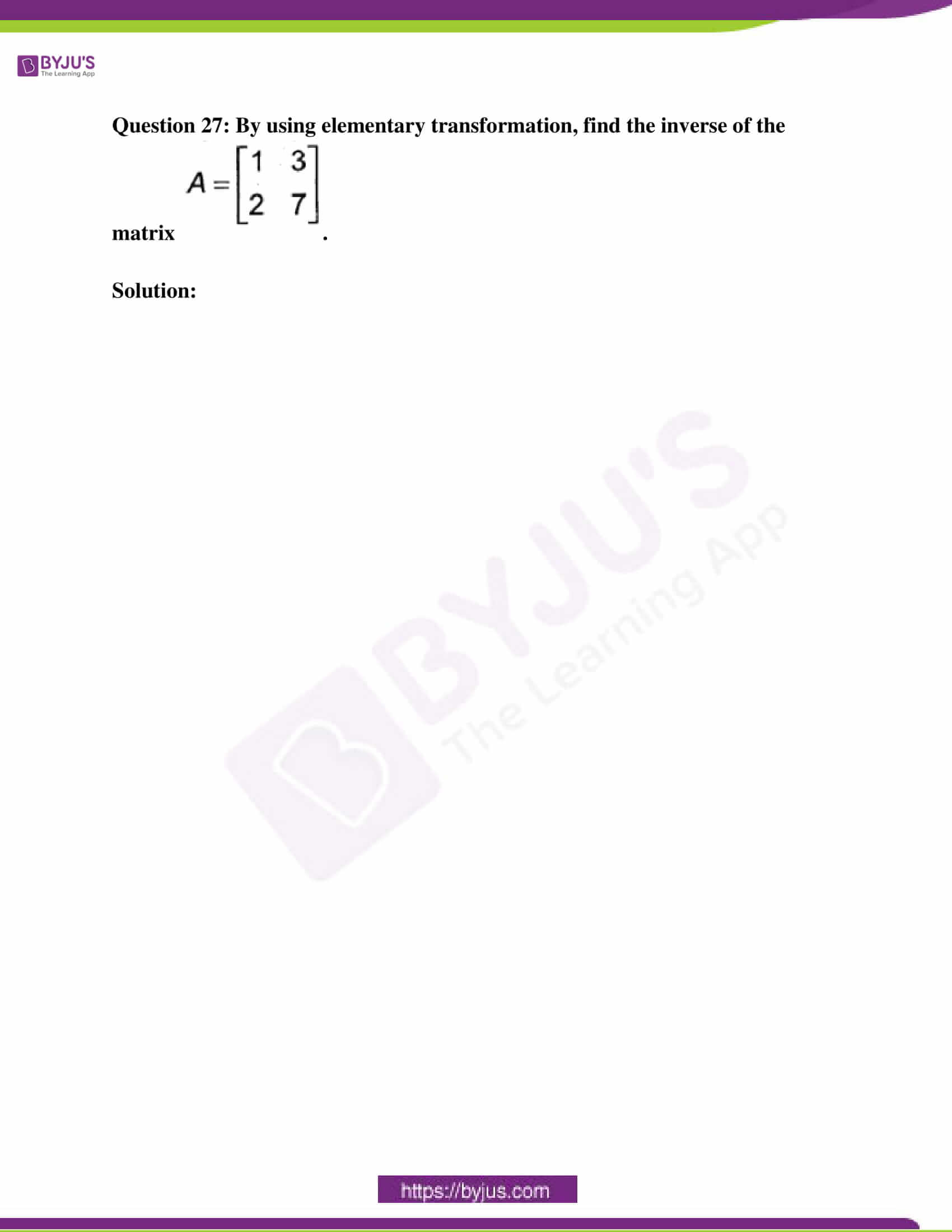 kseeb class 12 exam question paper solutions march 2018 10
