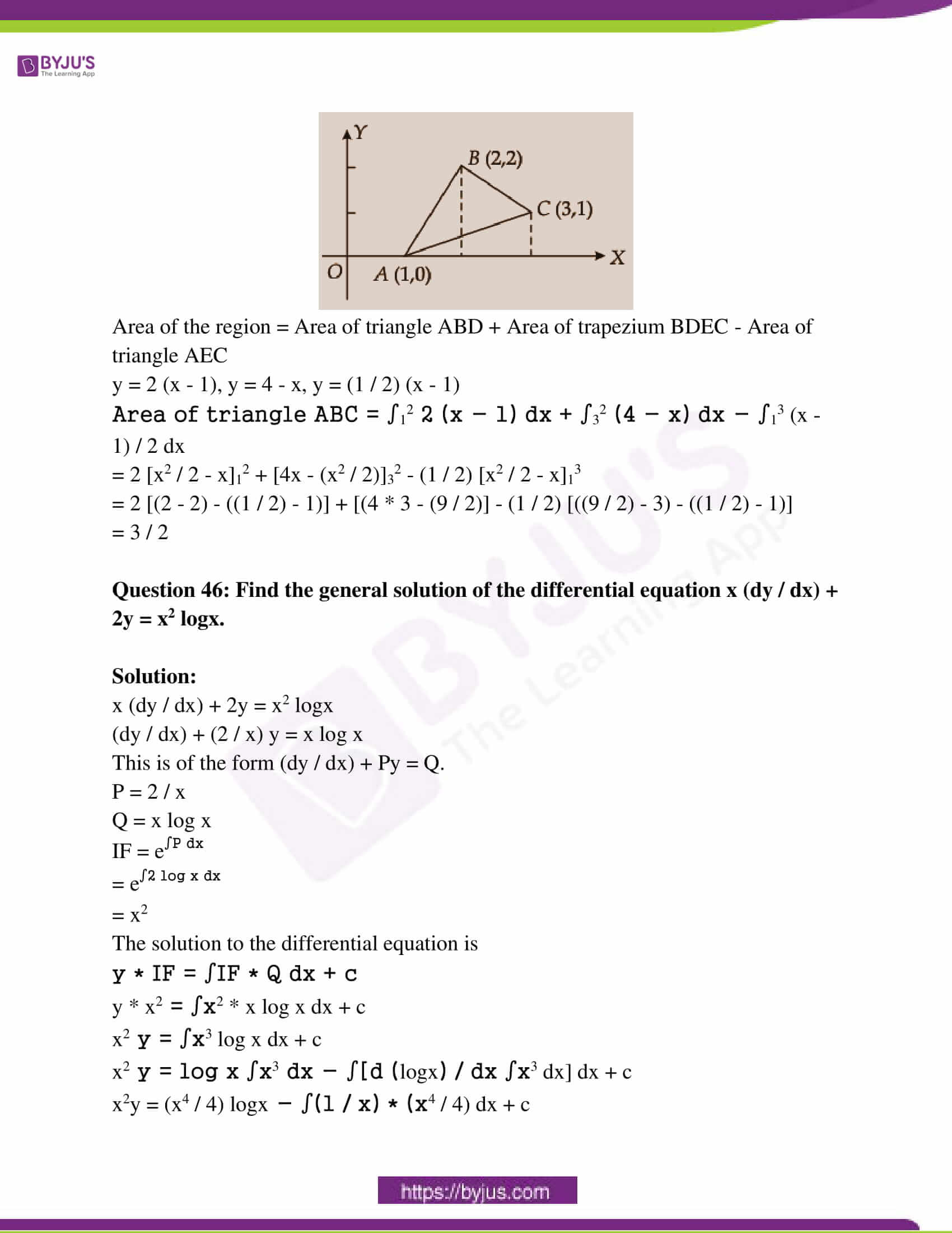 kseeb class 12 exam question paper solutions march 2018 23
