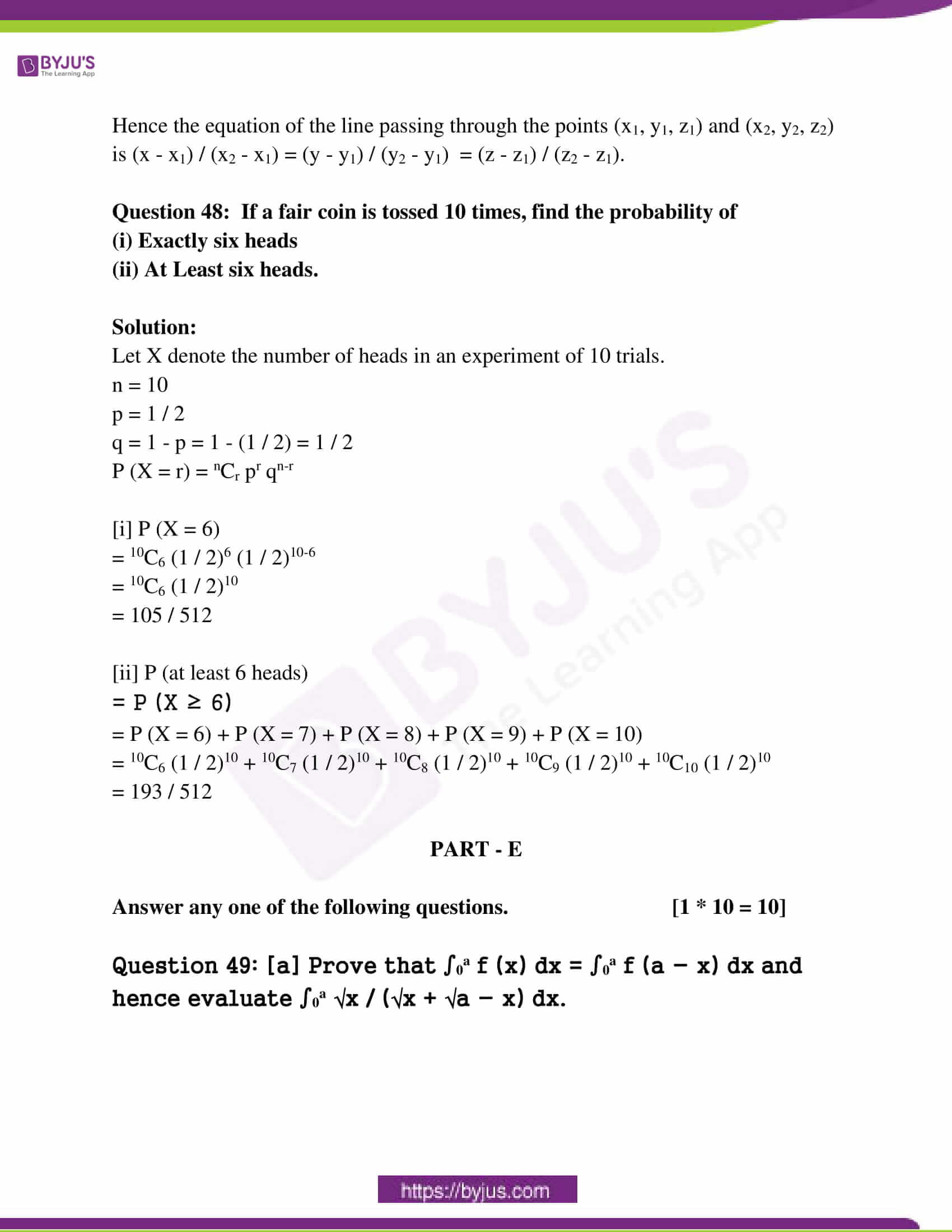 kseeb class 12 exam question paper solutions march 2018 25