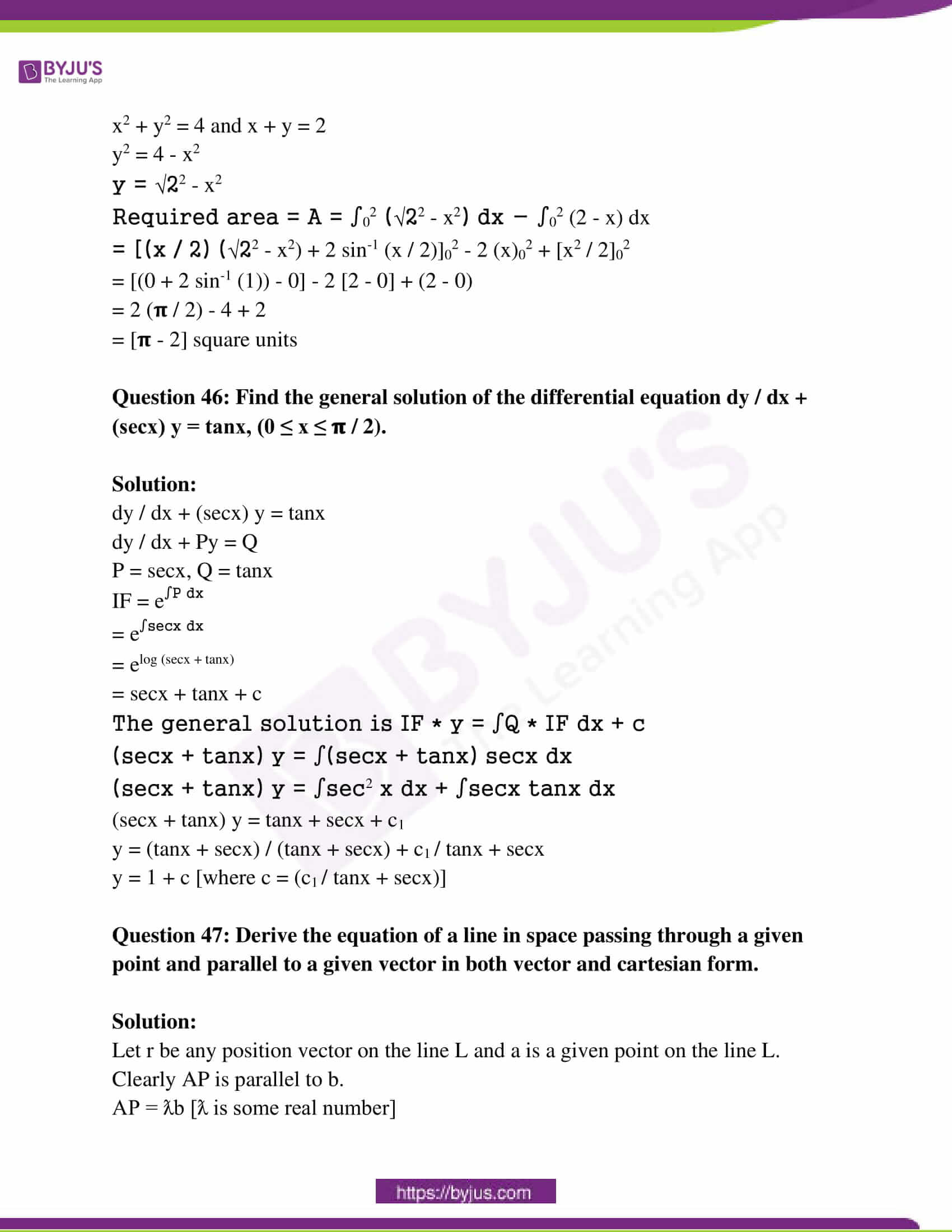 kseeb class 12 exam question paper solutions march 2019 23