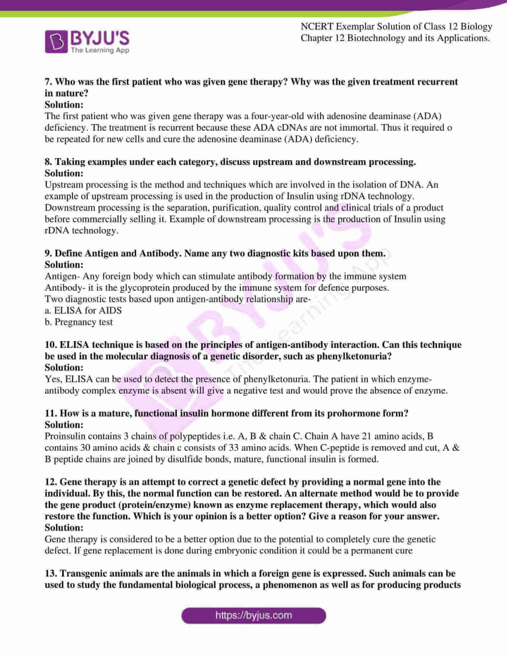ncert exemplar solution of class 12 biology chapter 12. 07