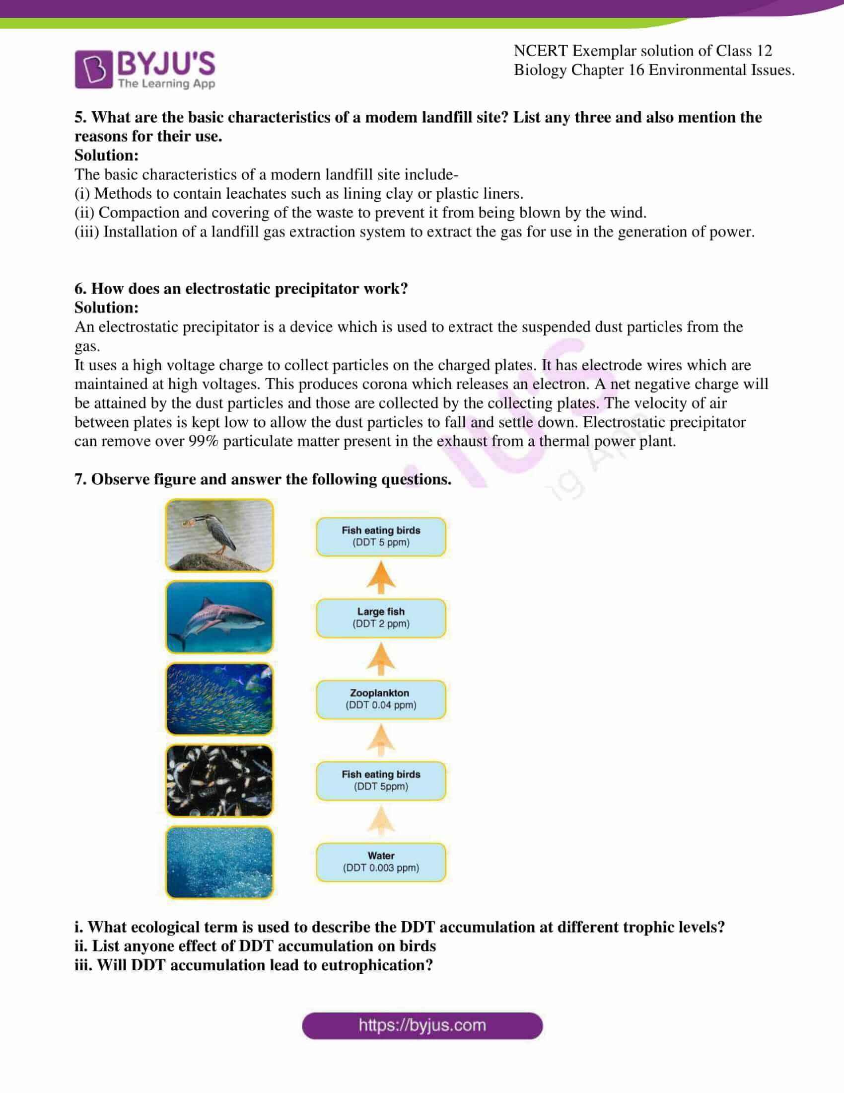 ncert exemplar solution of class 12 biology chapter 16 10