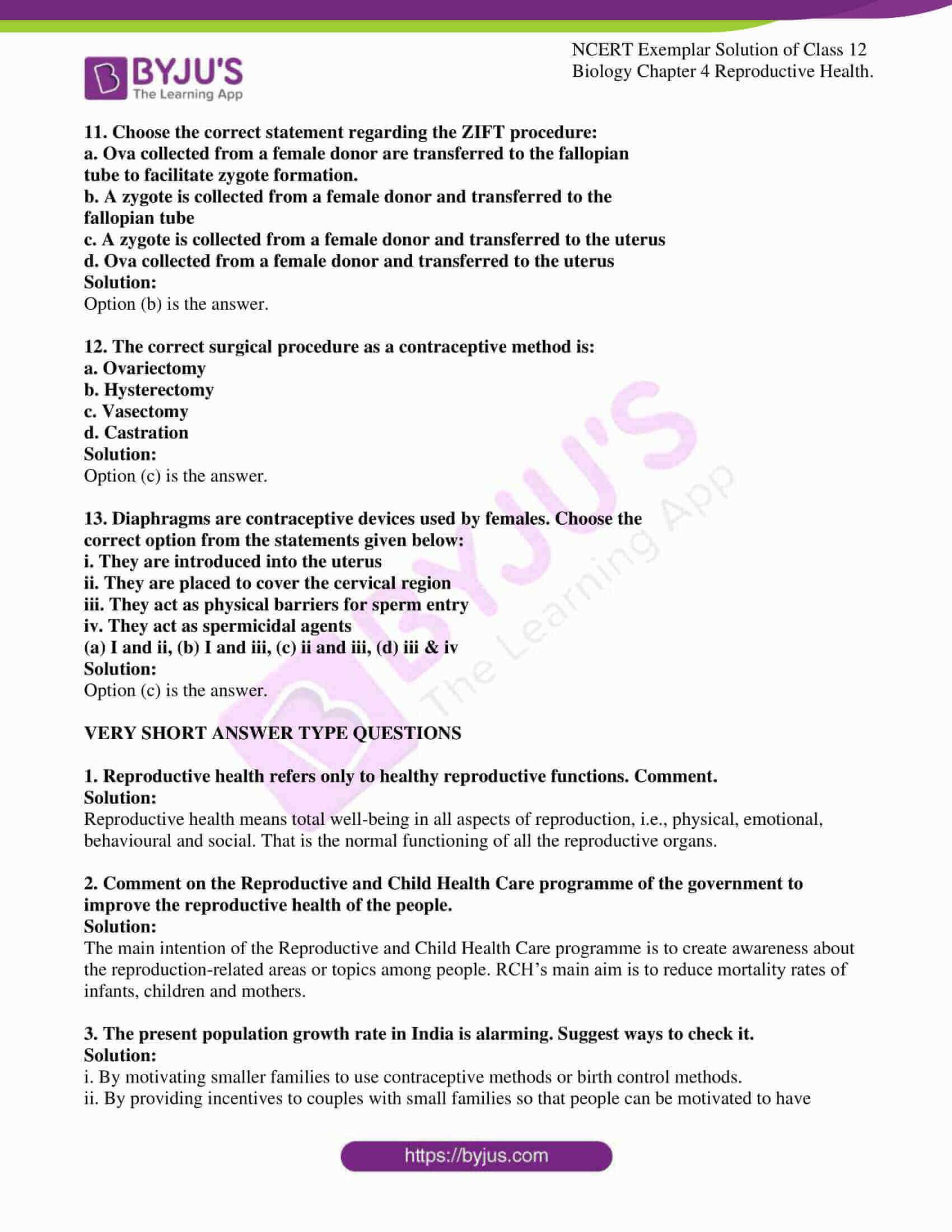 ncert exemplar solution of class 12 biology chapter 4 3