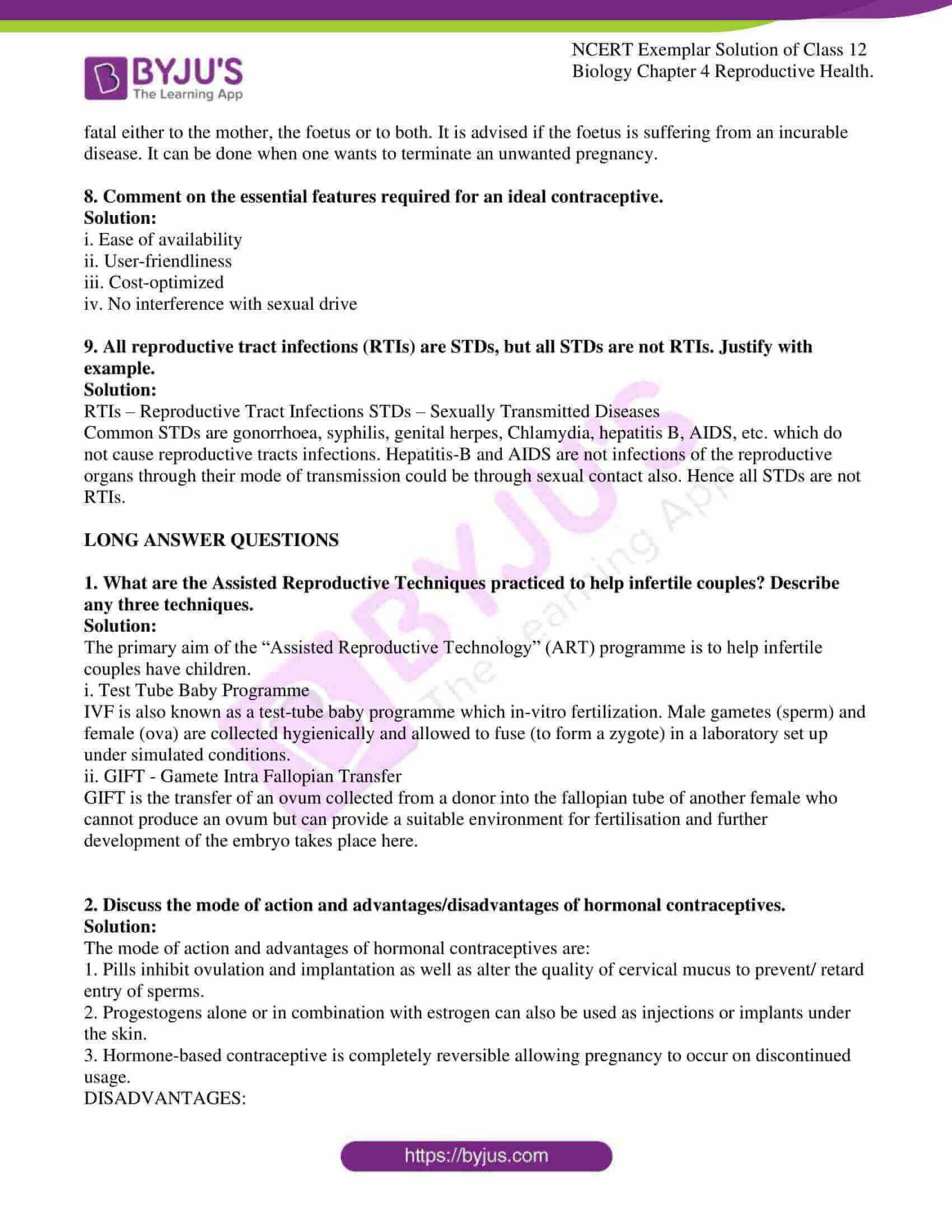 ncert exemplar solution of class 12 biology chapter 4 6