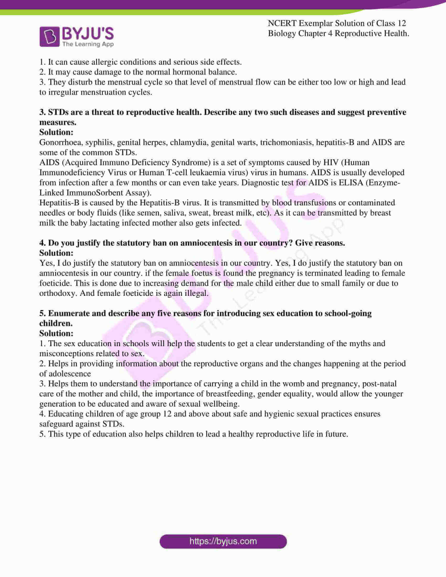 ncert exemplar solution of class 12 biology chapter 4 7