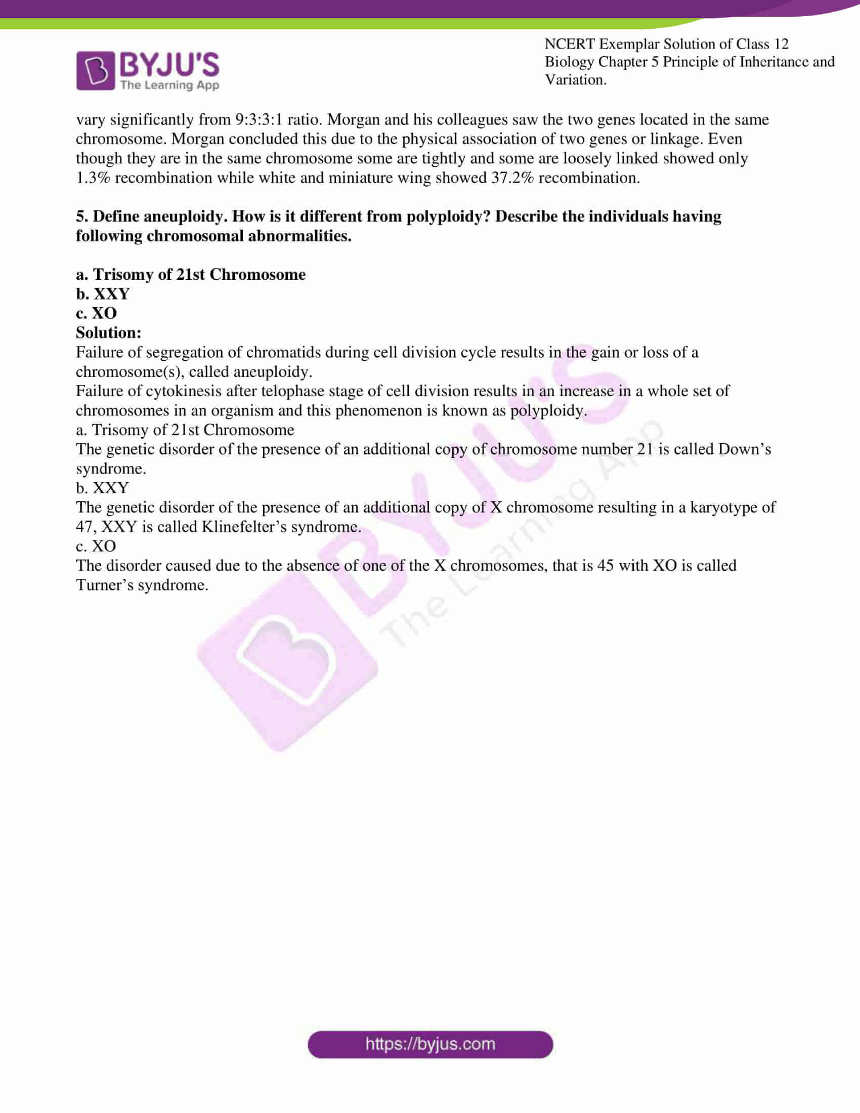 ncert exemplar solution of class 12 biology chapter 5 13