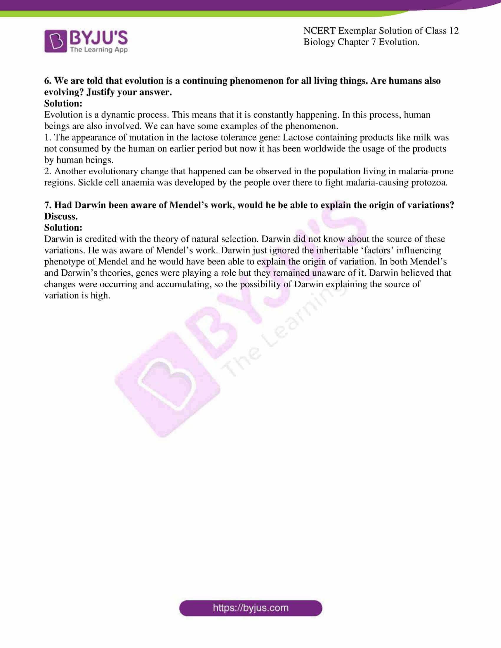 ncert exemplar solution of class 12 biology chapter 7 9