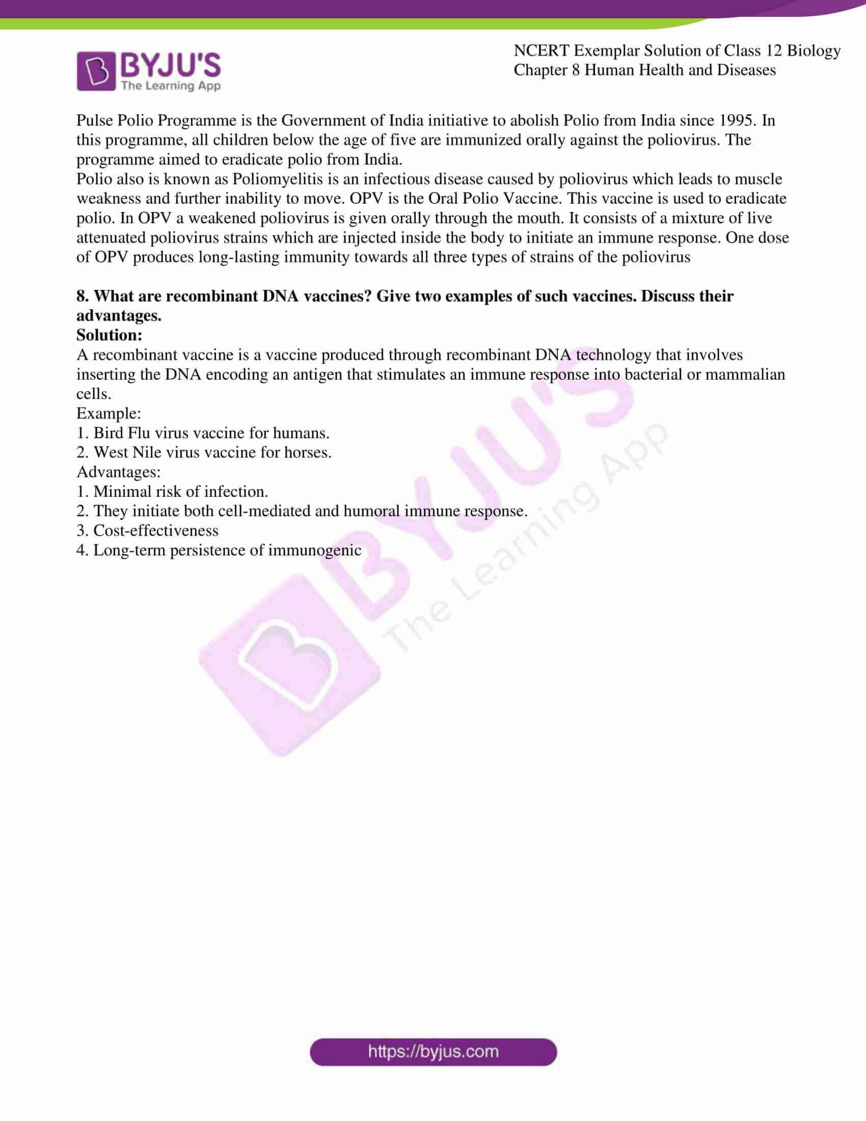 ncert exemplar solution of class 12 biology chapter 8 16