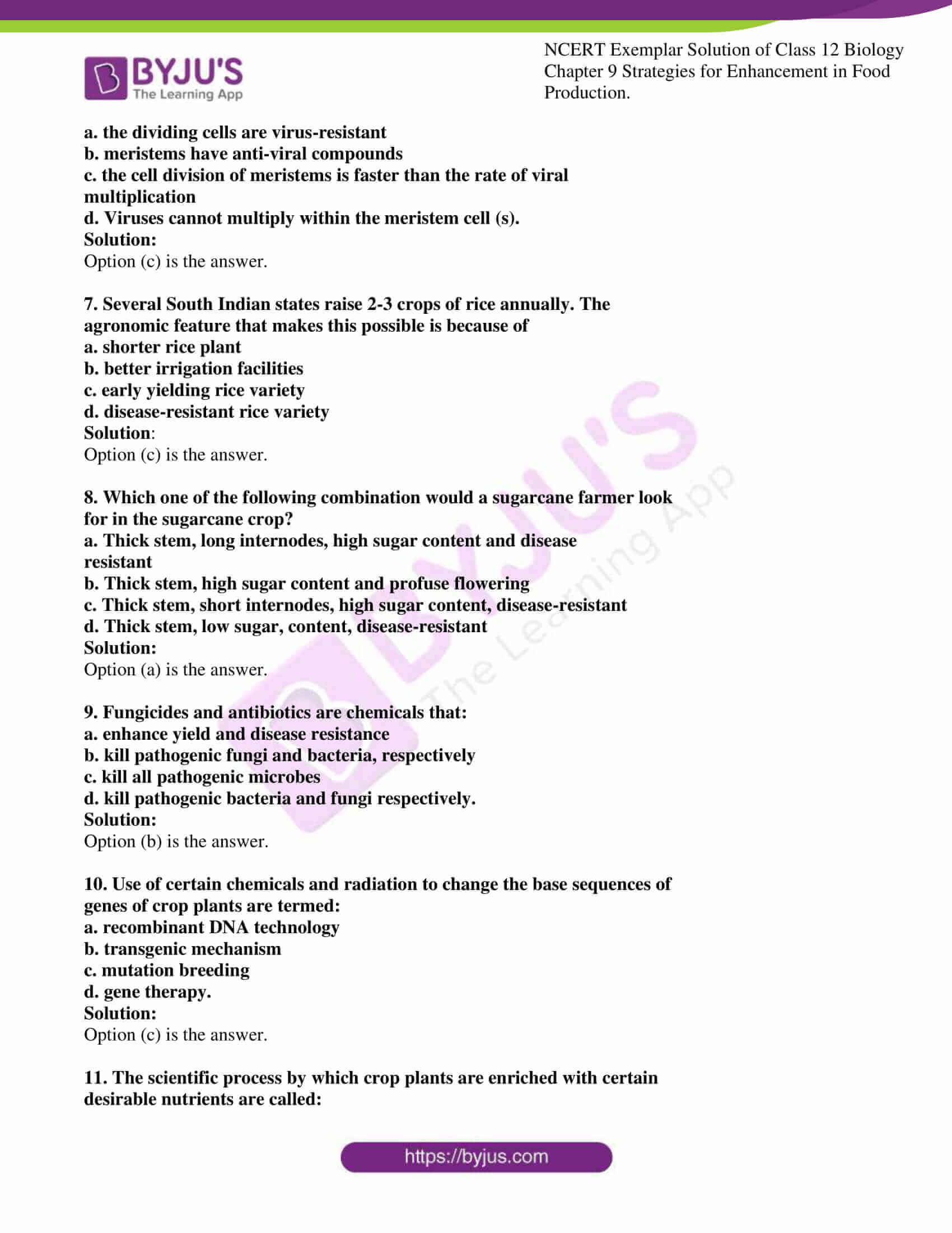 ncert exemplar solution of class 12 biology chapter 9 02