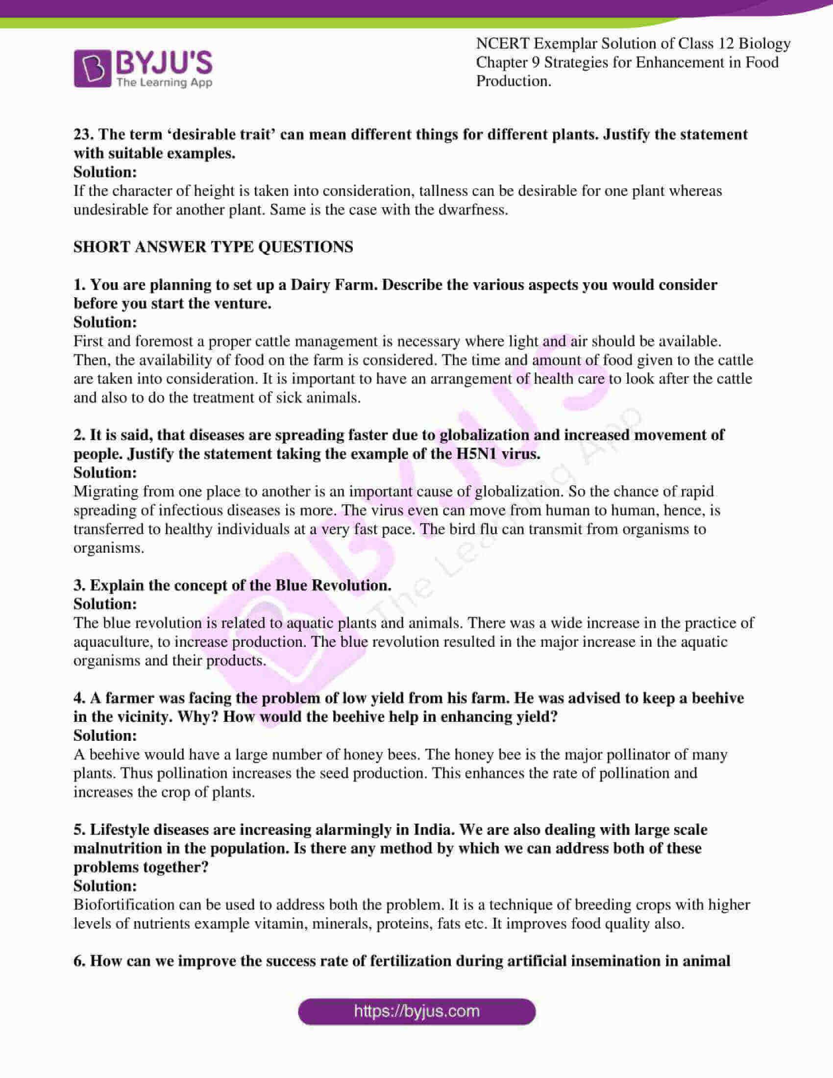 ncert exemplar solution of class 12 biology chapter 9 09