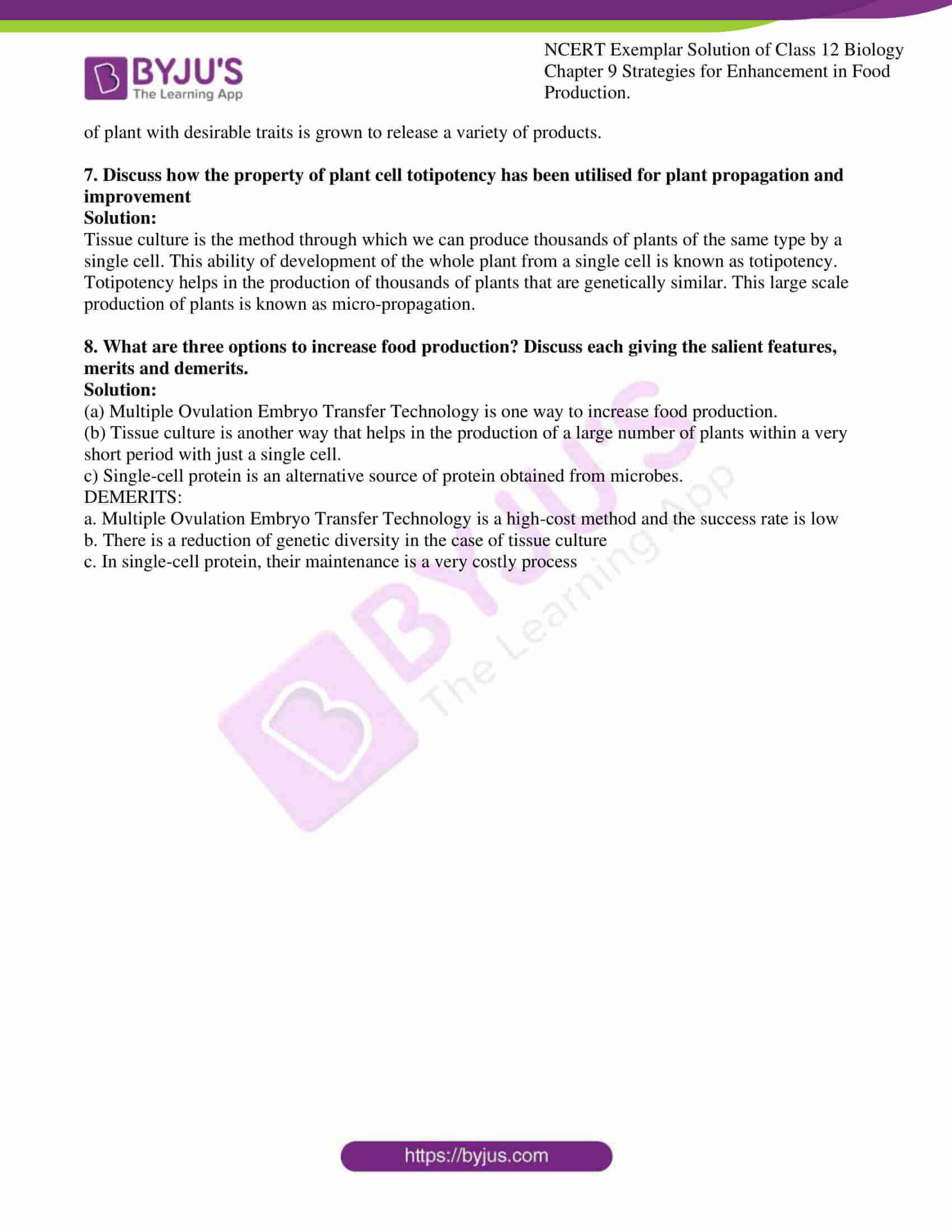 ncert exemplar solution of class 12 biology chapter 9 14
