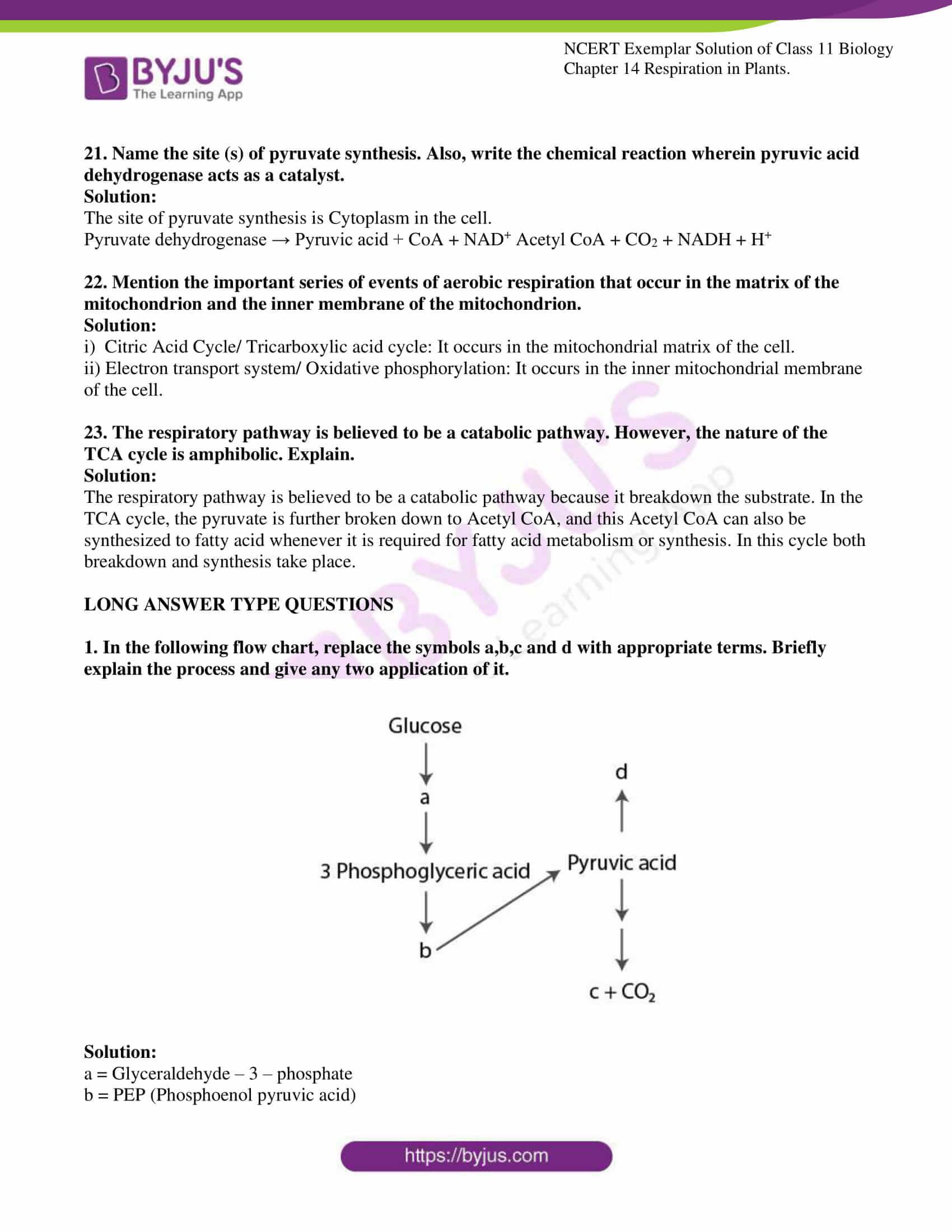 ncert exemplar solutions class 11 biology chapter 14 10