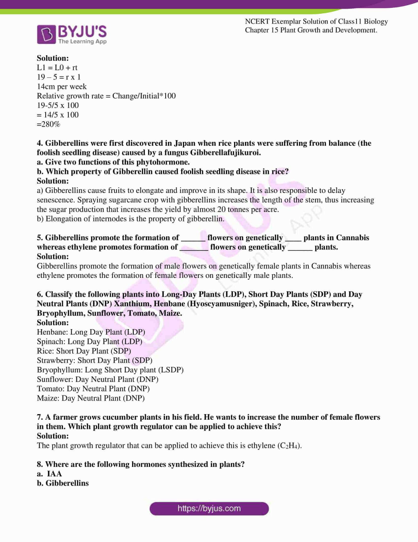 ncert exemplar solutions class 11 biology chapter 15 04