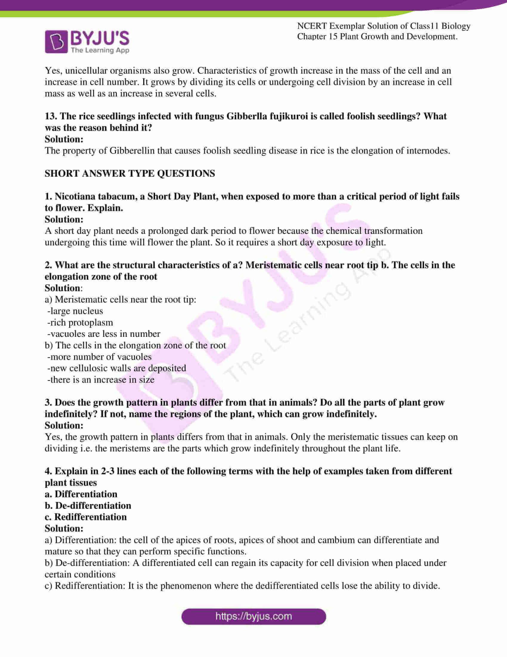 ncert exemplar solutions class 11 biology chapter 15 06